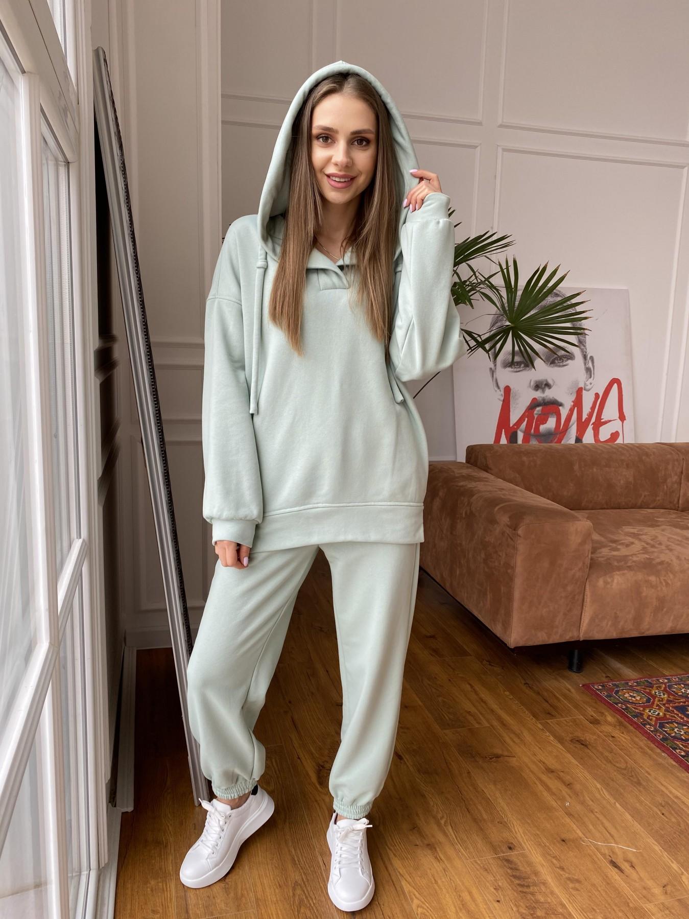 Ярис костюм из 3х нитки 10789 АРТ. 47616 Цвет: Олива Светлая - фото 1, интернет магазин tm-modus.ru