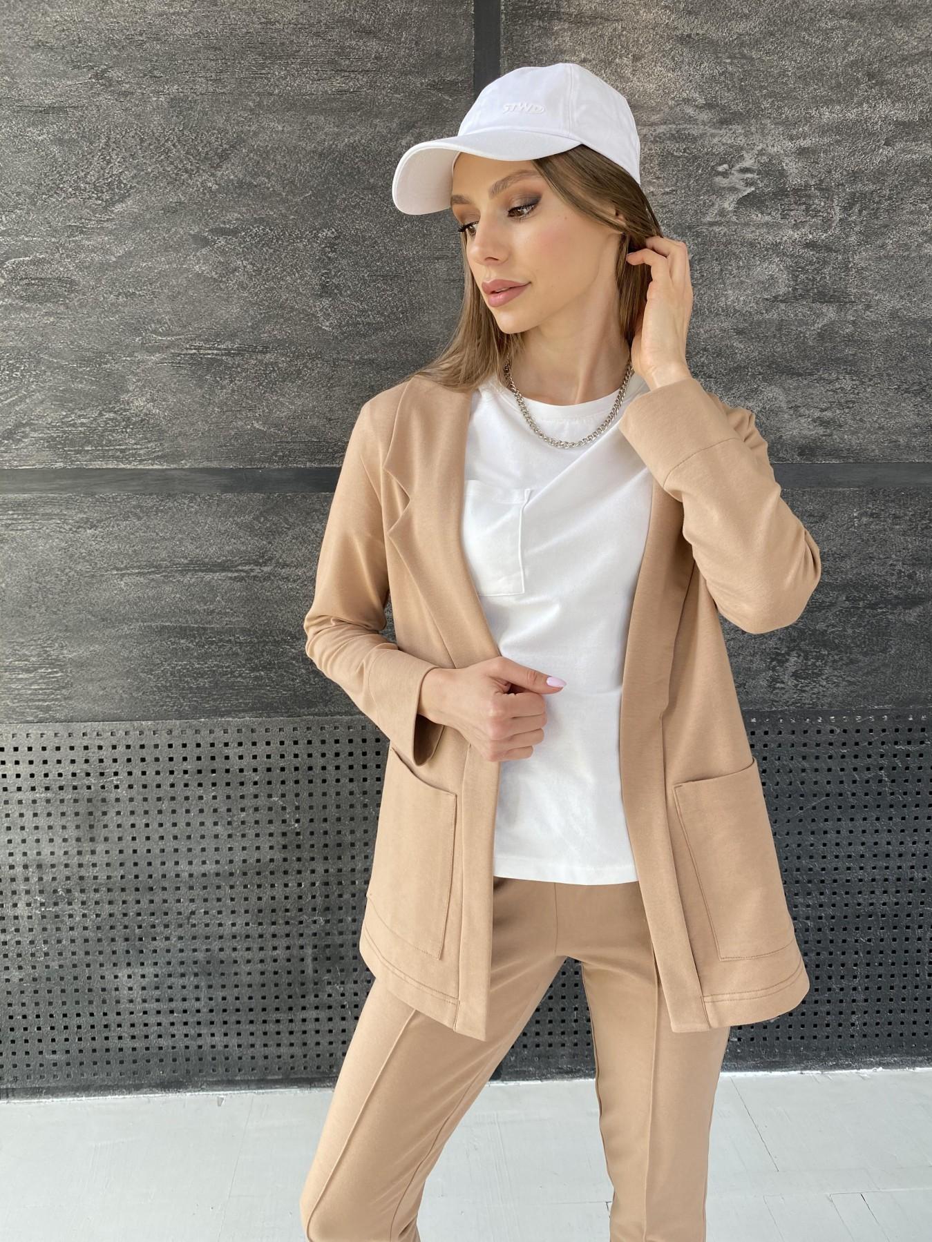 Аурис костюм трикотажный из  3х нитки 11083 АРТ. 47657 Цвет: Кемел - фото 2, интернет магазин tm-modus.ru