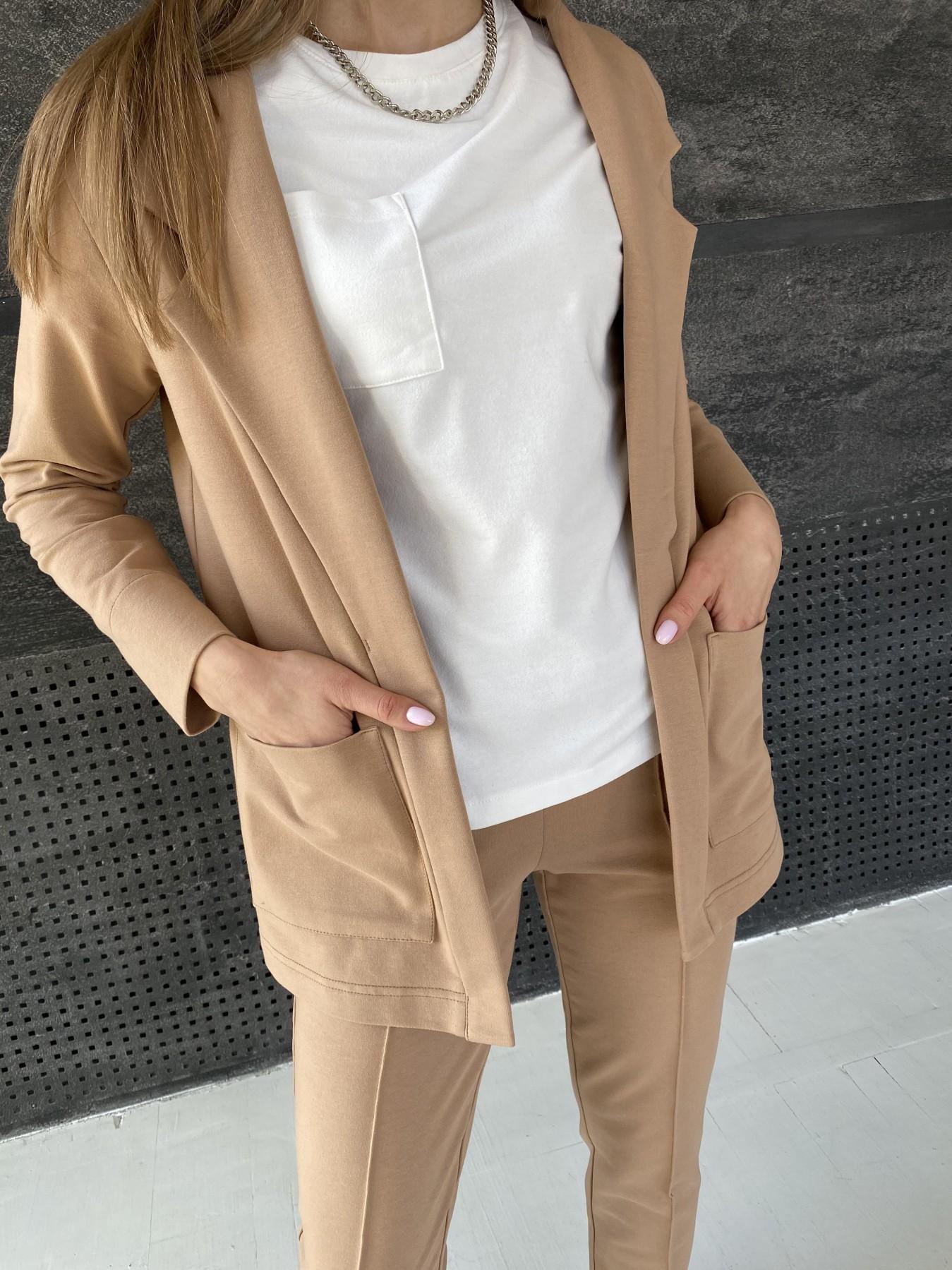 Аурис костюм трикотажный из  3х нитки 11083 АРТ. 47657 Цвет: Кемел - фото 4, интернет магазин tm-modus.ru