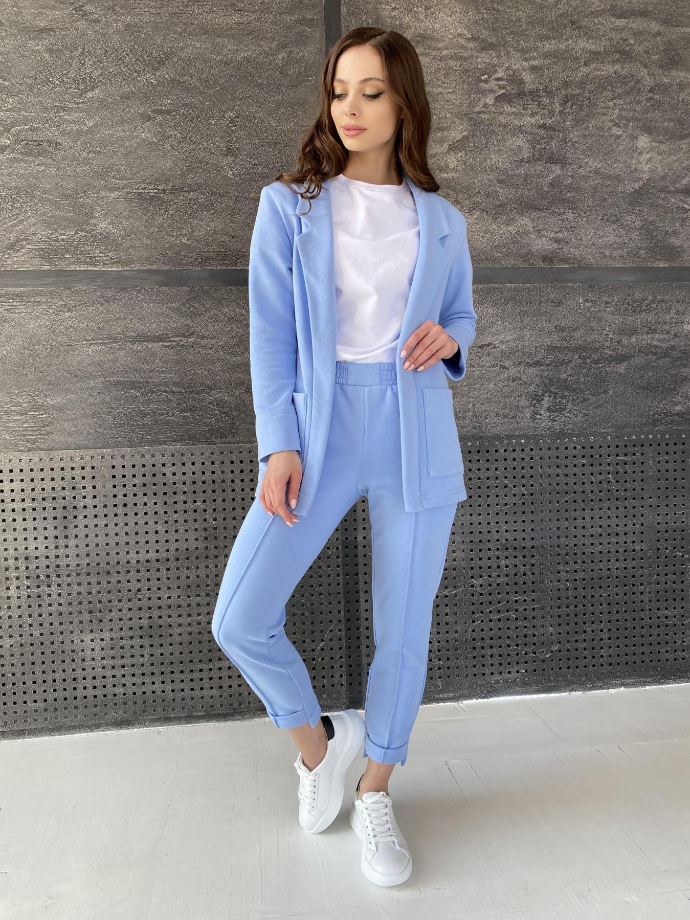 Аурис костюм трикотажный из  3х нитки 11083 АРТ. 47577 Цвет: Голубой - фото 1, интернет магазин tm-modus.ru