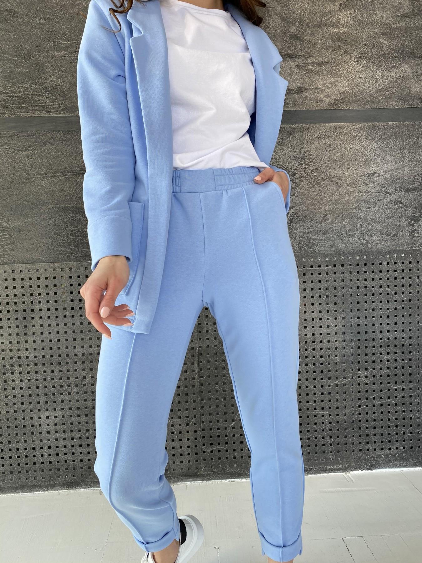 Аурис костюм трикотажный из  3х нитки 11083 АРТ. 47577 Цвет: Голубой - фото 2, интернет магазин tm-modus.ru