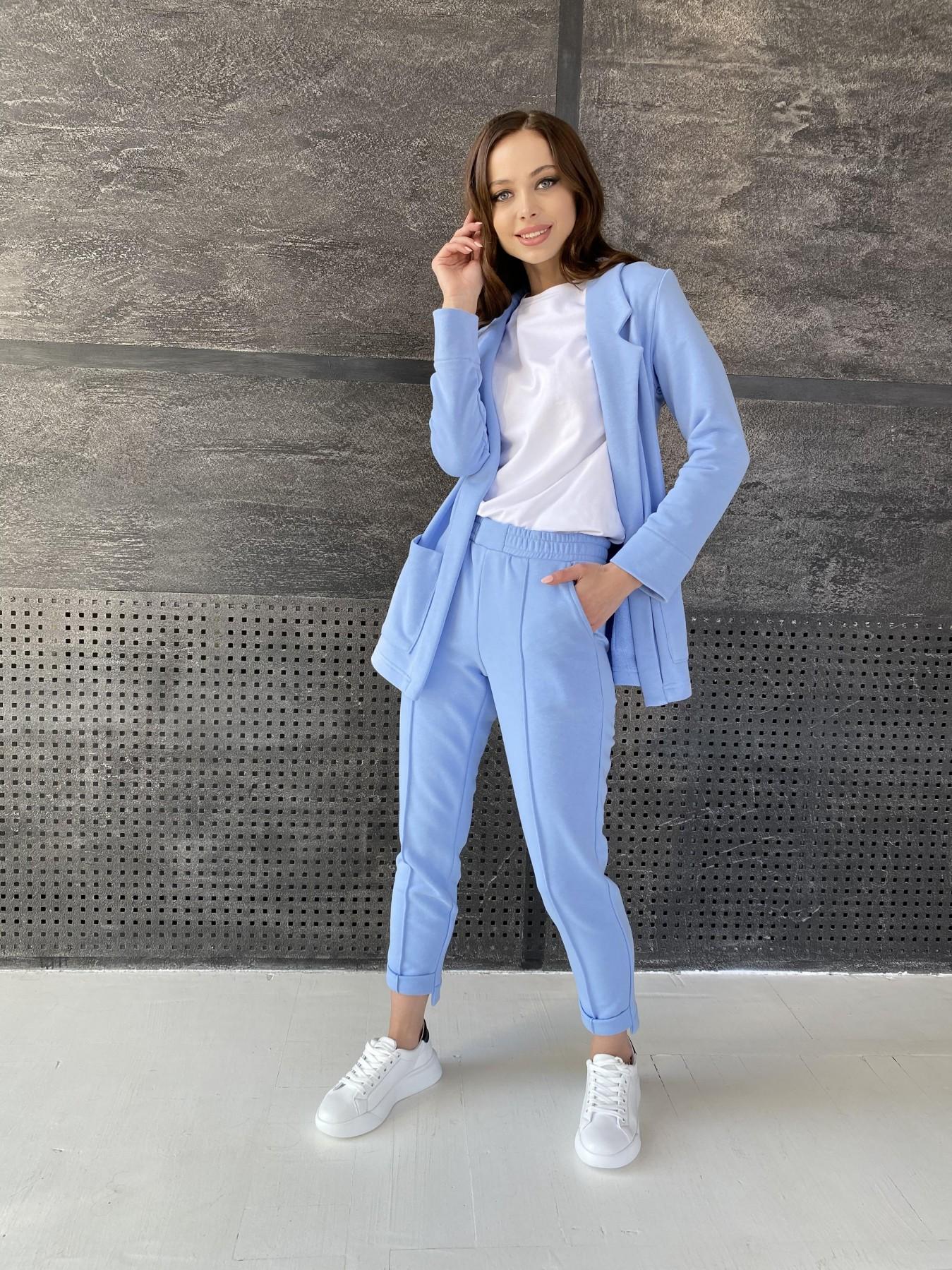 Аурис костюм трикотажный из  3х нитки 11083 АРТ. 47577 Цвет: Голубой - фото 7, интернет магазин tm-modus.ru