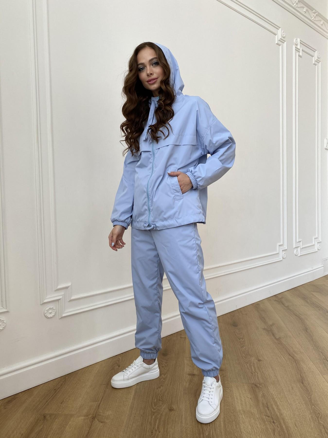 Фит костюм из плащевой ткани Ammy 11051 АРТ. 47641 Цвет: Голубой 1021 - фото 2, интернет магазин tm-modus.ru