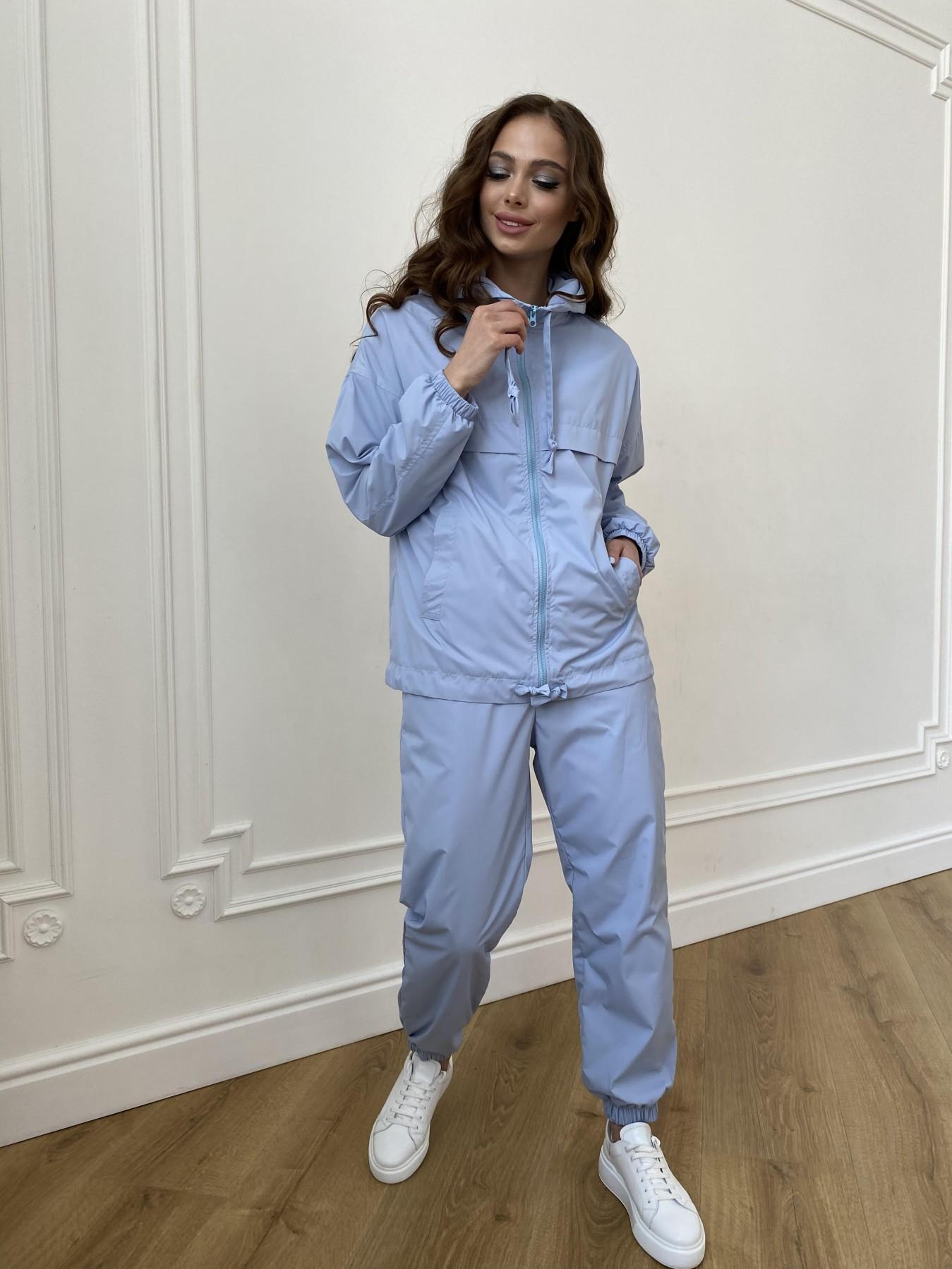 Фит костюм из плащевой ткани Ammy 11051 АРТ. 47641 Цвет: Голубой 1021 - фото 3, интернет магазин tm-modus.ru