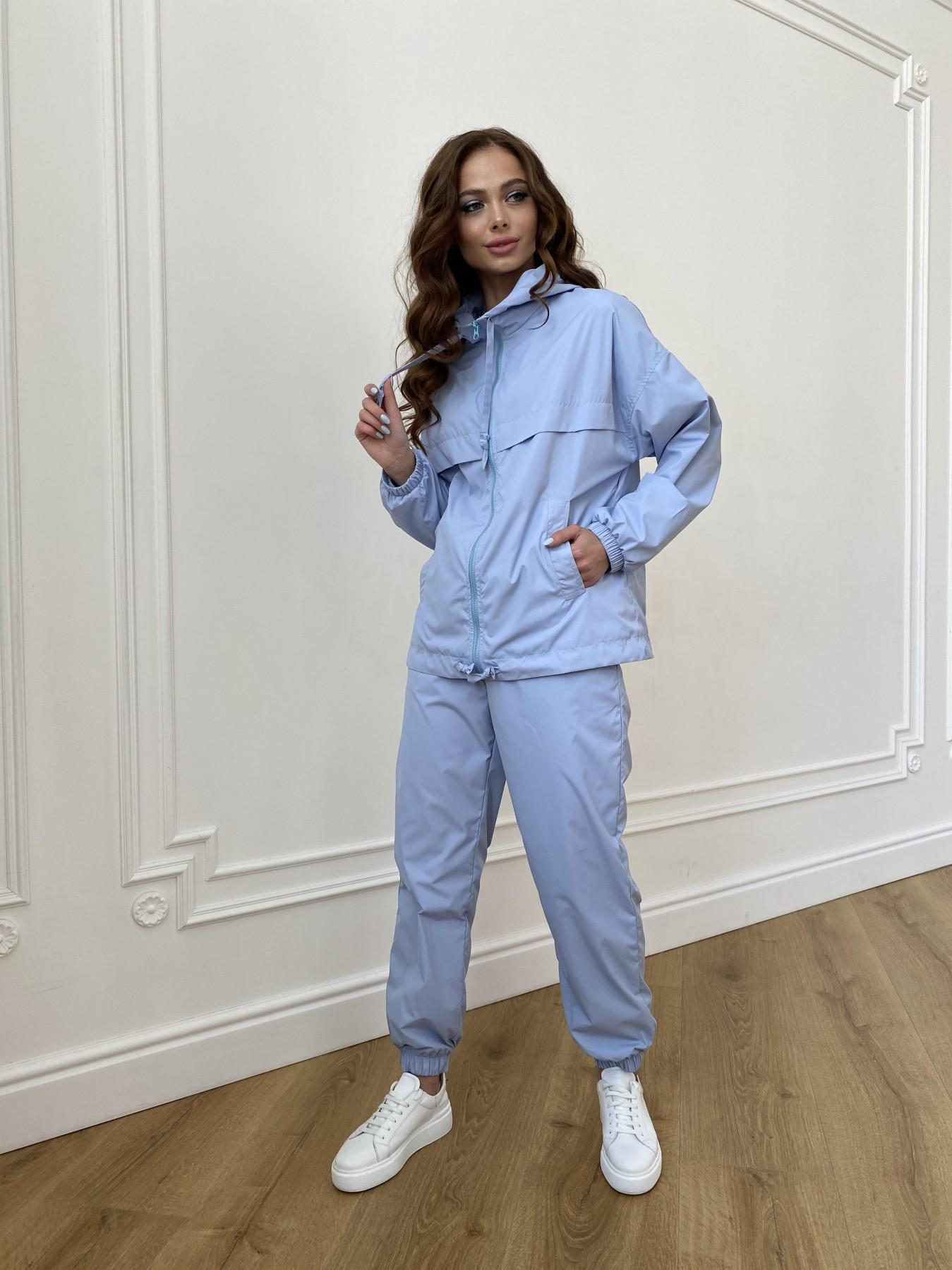 Фит костюм из плащевой ткани Ammy 11051 АРТ. 47641 Цвет: Голубой 1021 - фото 4, интернет магазин tm-modus.ru
