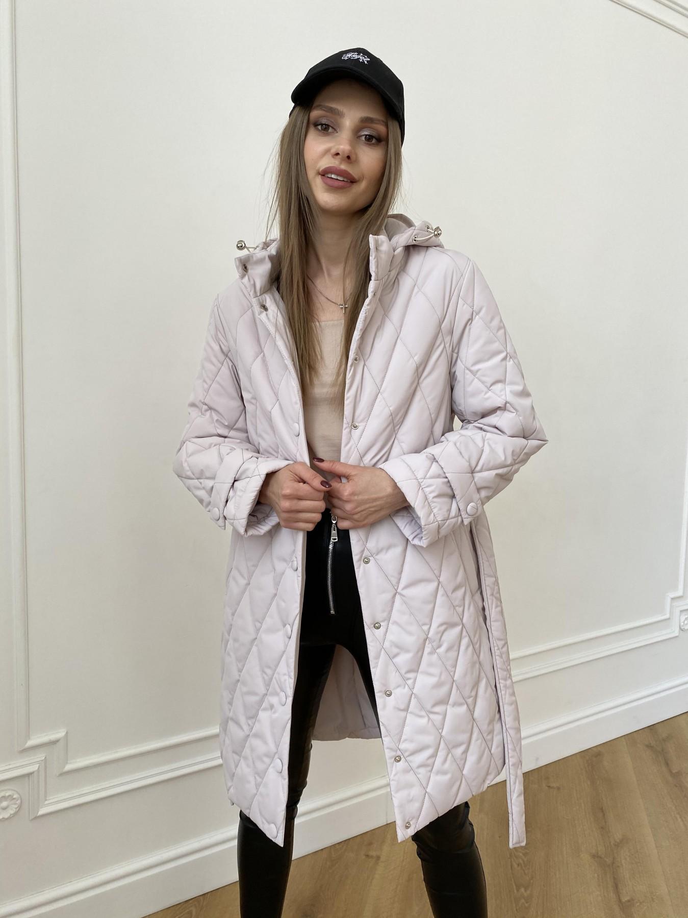 куртки оптом от производителя  Виза стеганая куртка из плащевой ткани 11015
