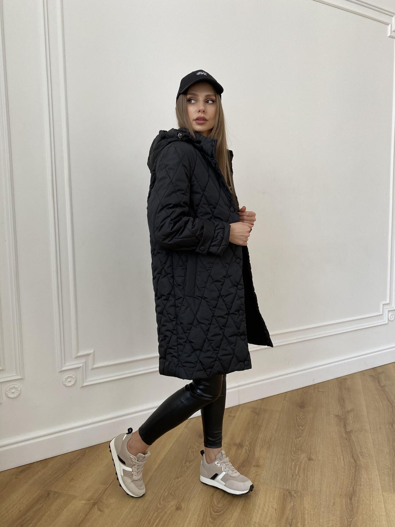 купить куртки женские Виза стеганая куртка из плащевой ткани 11015