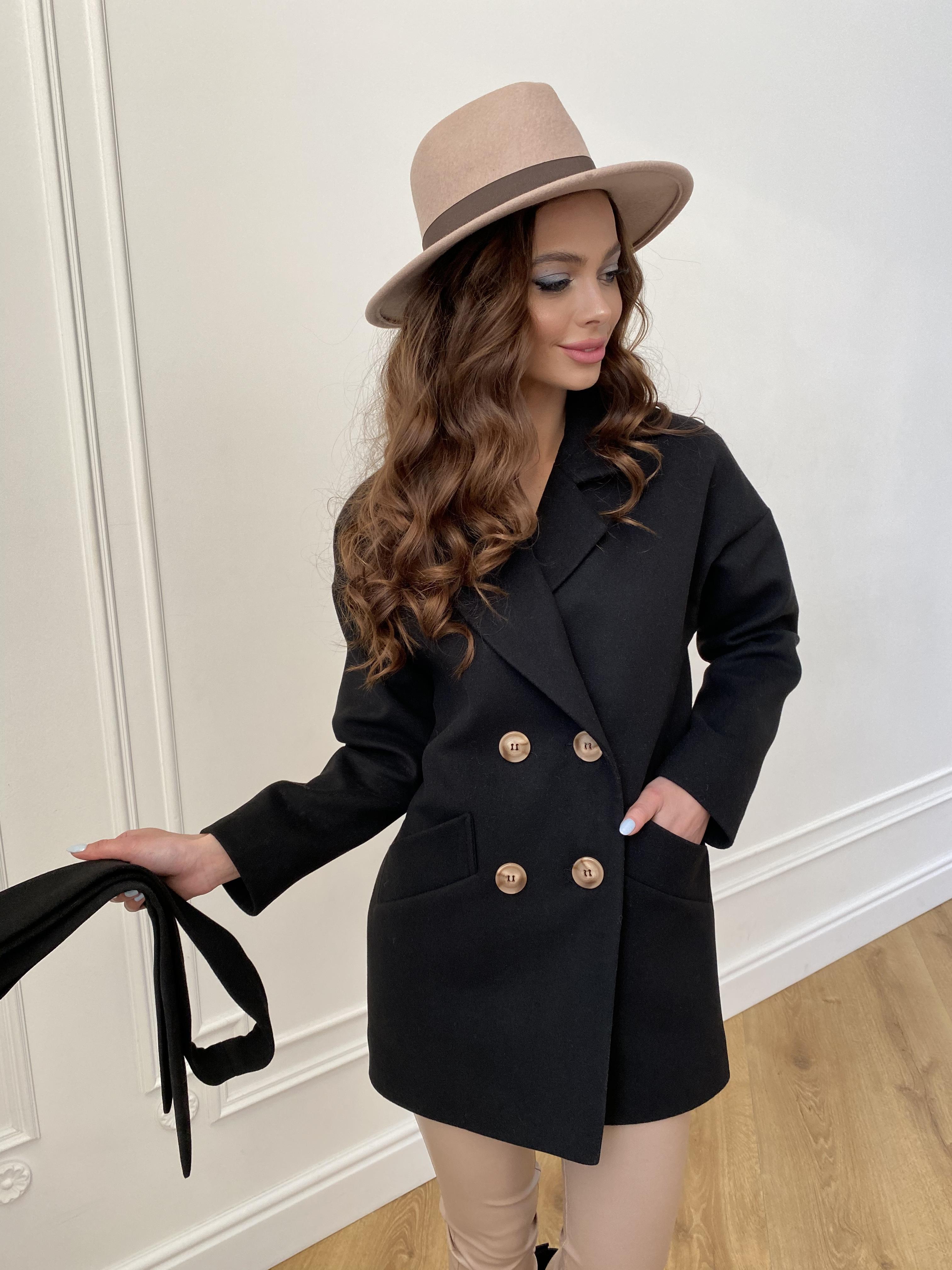 Демисезонное женское пальто от Modus Бонд пальто из гладкого кашемира 10900