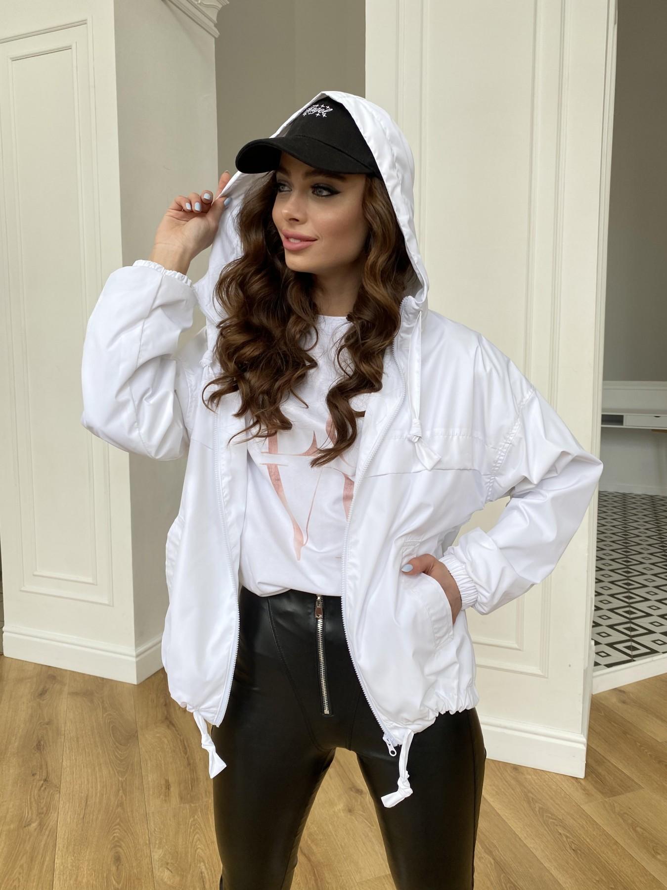 Фит куртка из плащевой ткани Ammy 11013 АРТ. 47646 Цвет: Молоко 12 - фото 1, интернет магазин tm-modus.ru