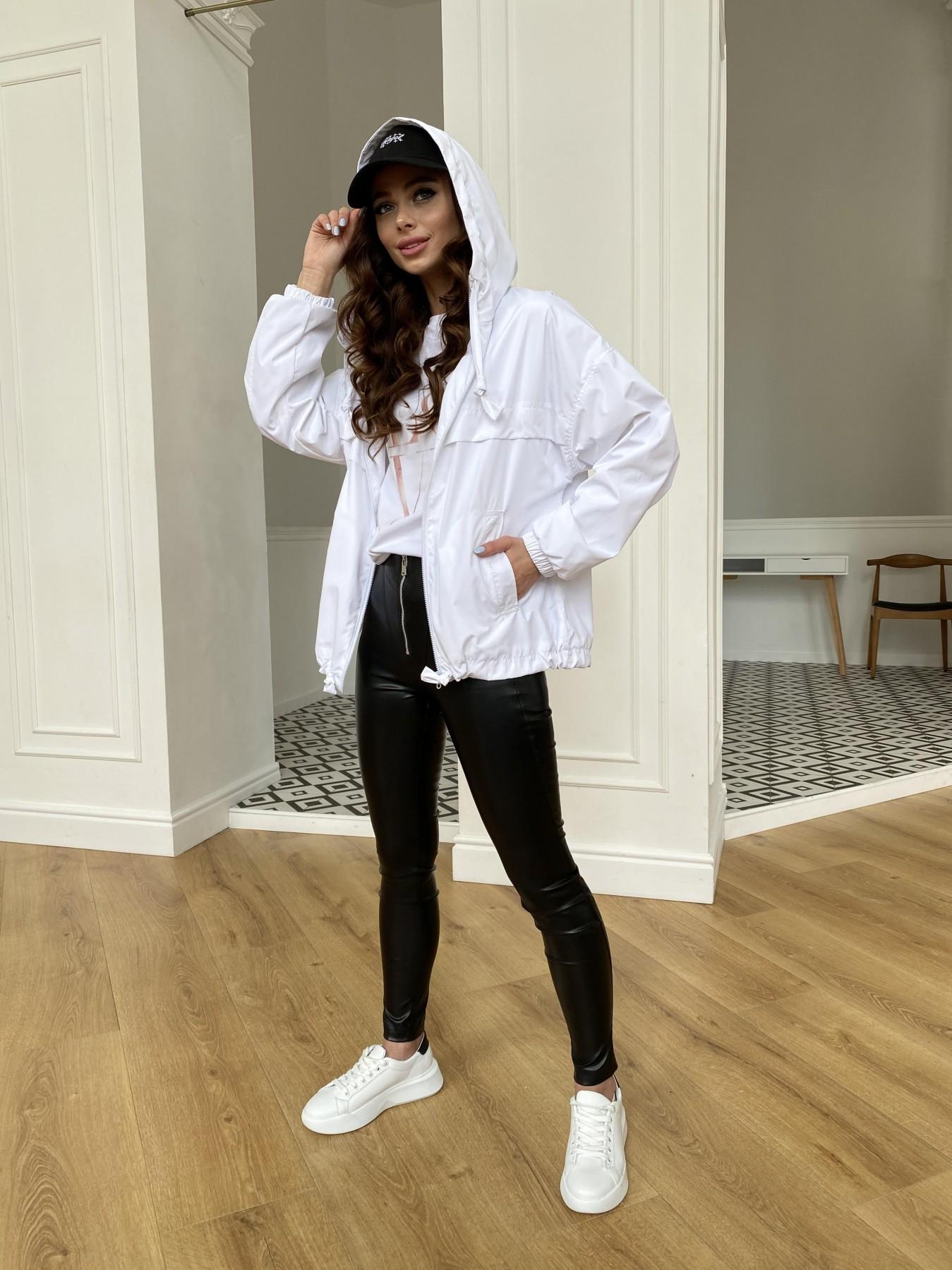 Фит куртка из плащевой ткани Ammy 11013 АРТ. 47646 Цвет: Молоко 12 - фото 5, интернет магазин tm-modus.ru
