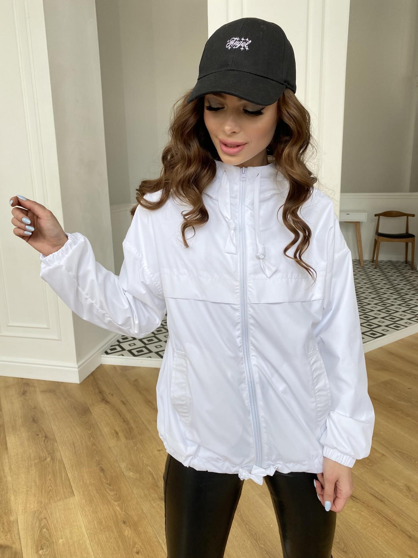 Фит куртка из плащевой ткани Ammy 11013 АРТ. 47646 Цвет: Молоко 12 - фото 11, интернет магазин tm-modus.ru
