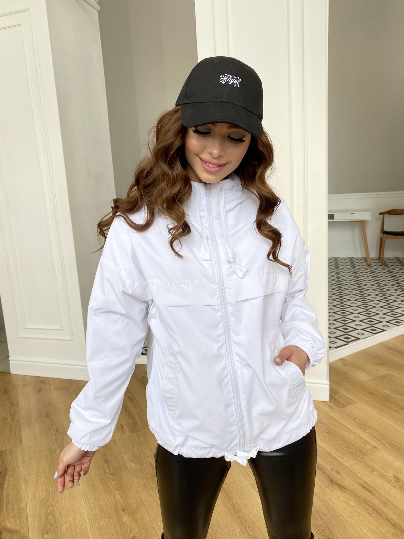 Фит куртка из плащевой ткани Ammy 11013 АРТ. 47646 Цвет: Молоко 12 - фото 12, интернет магазин tm-modus.ru