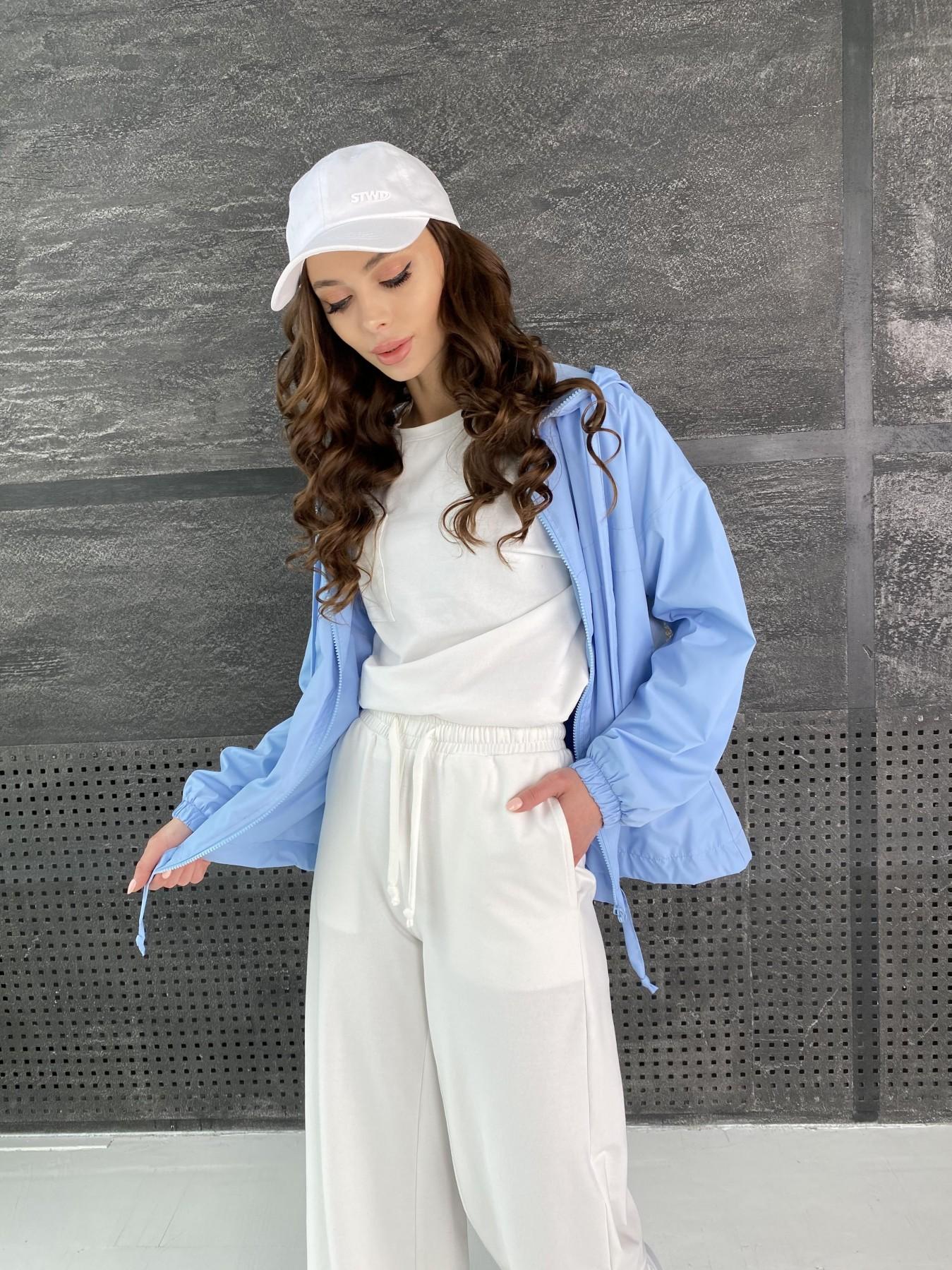 Фит куртка из плащевой ткани Ammy 11013 АРТ. 47593 Цвет: Голубой - фото 1, интернет магазин tm-modus.ru