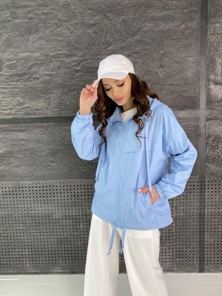 """Купить """"Фит"""" куртка из плащевой ткани Ammy 11013 оптом и в розницу"""