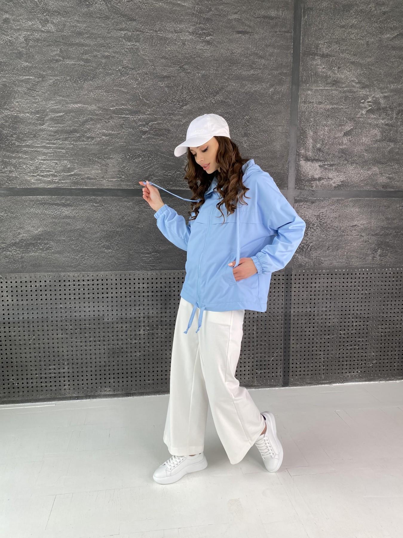 Фит куртка из плащевой ткани Ammy 11013 АРТ. 47593 Цвет: Голубой - фото 6, интернет магазин tm-modus.ru