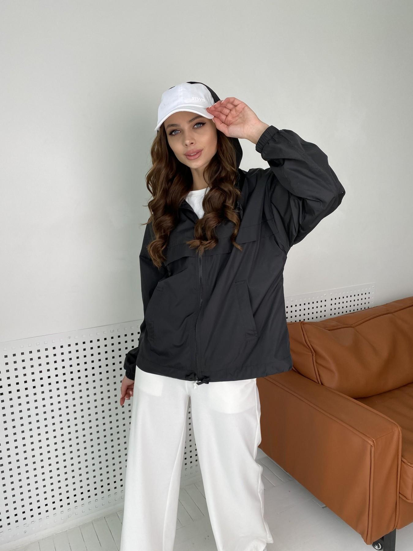 куртка женская купить Фит ветровка из плащевой  Astra 11103