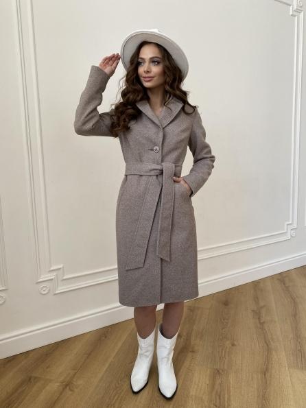 """Купить """"Камила""""  пальто из кашемира зима 8487 оптом и в розницу"""