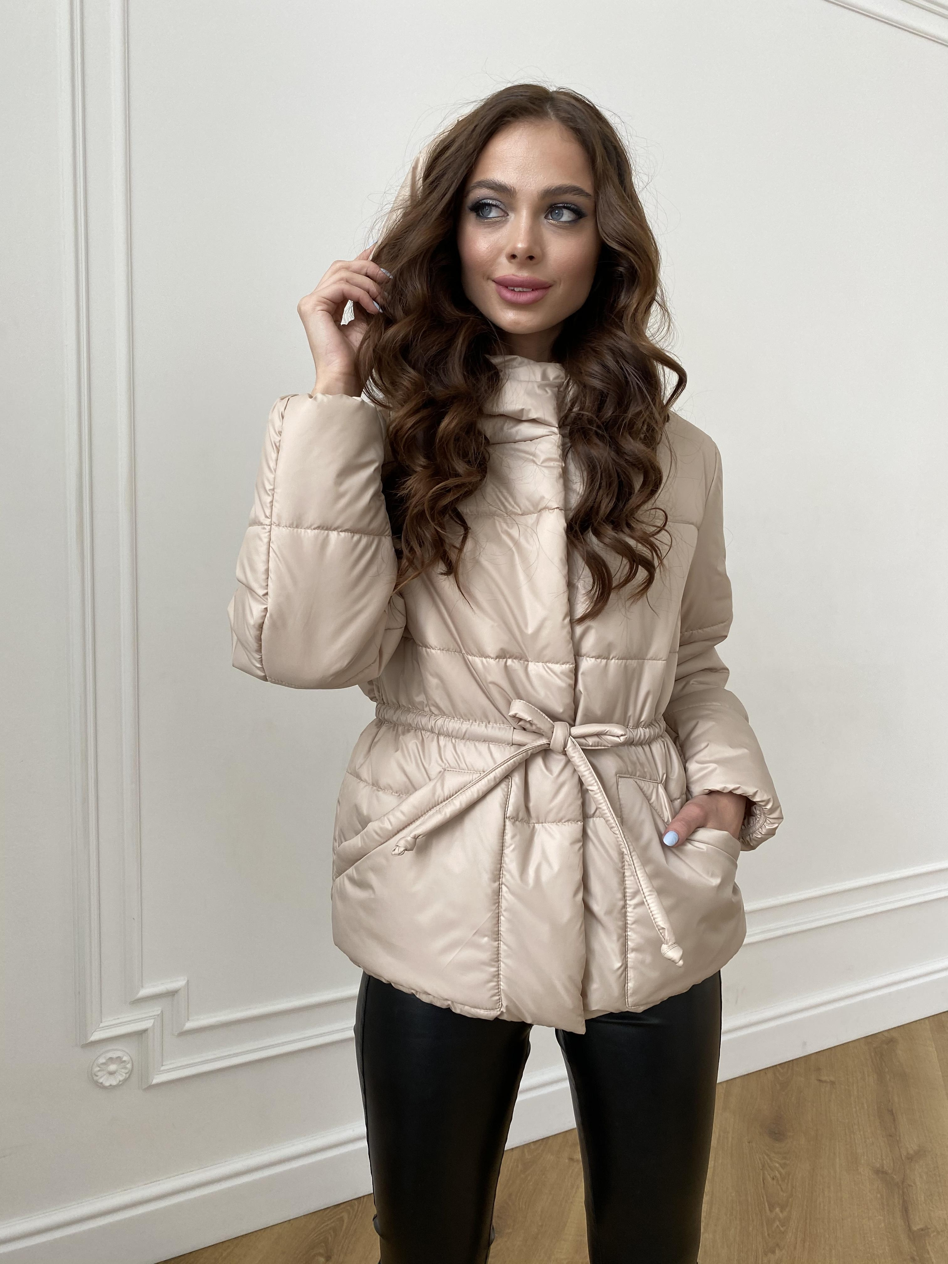 куртка пуховик женская Пино куртка из плащевой ткани 10489