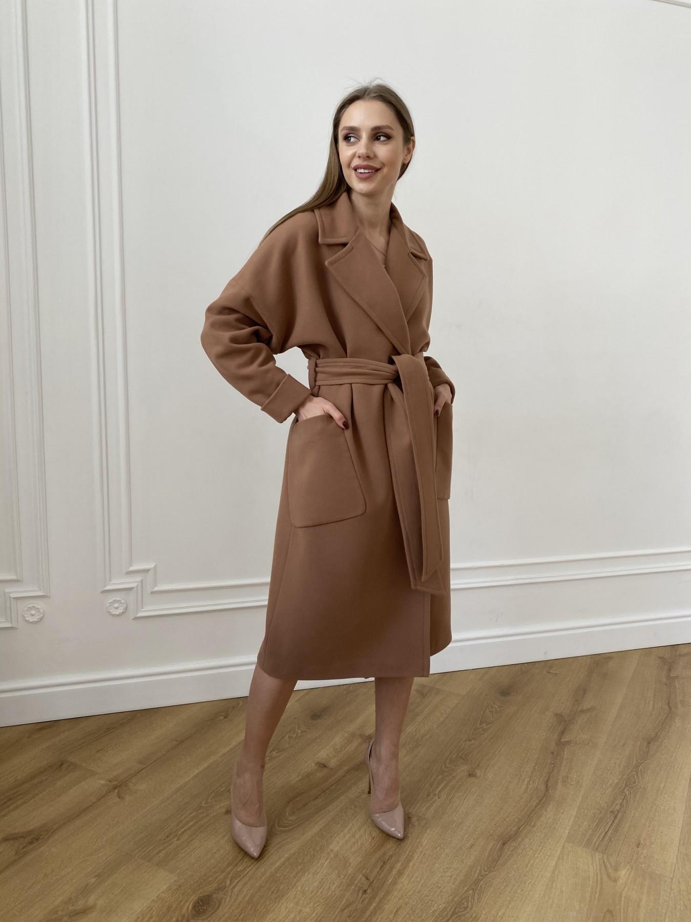 Кейт  пальто из кашемира 10539 АРТ. 47460 Цвет: Кемел Темный 8442 - фото 1, интернет магазин tm-modus.ru