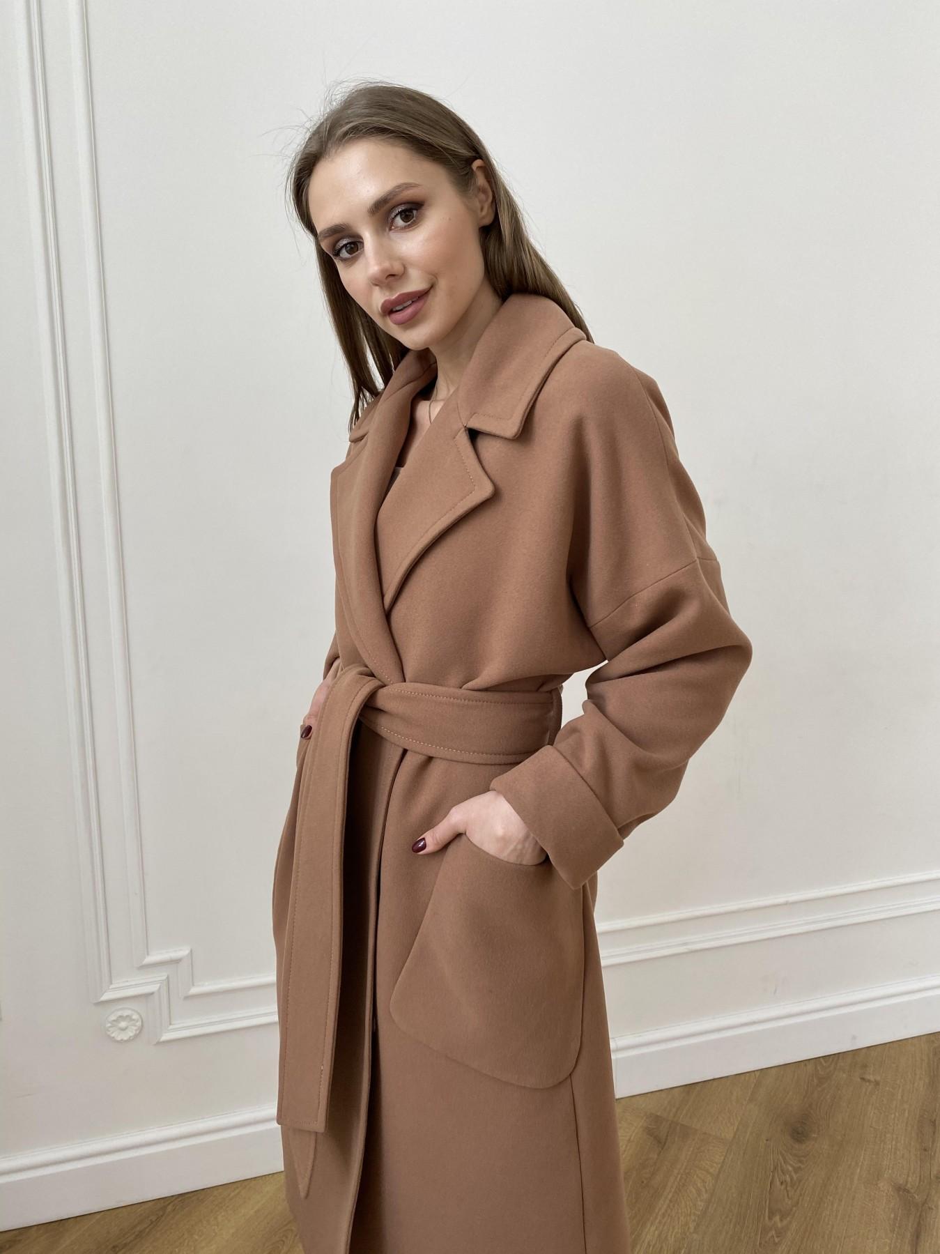 Кейт  пальто из кашемира 10539 АРТ. 47460 Цвет: Кемел Темный 8442 - фото 2, интернет магазин tm-modus.ru