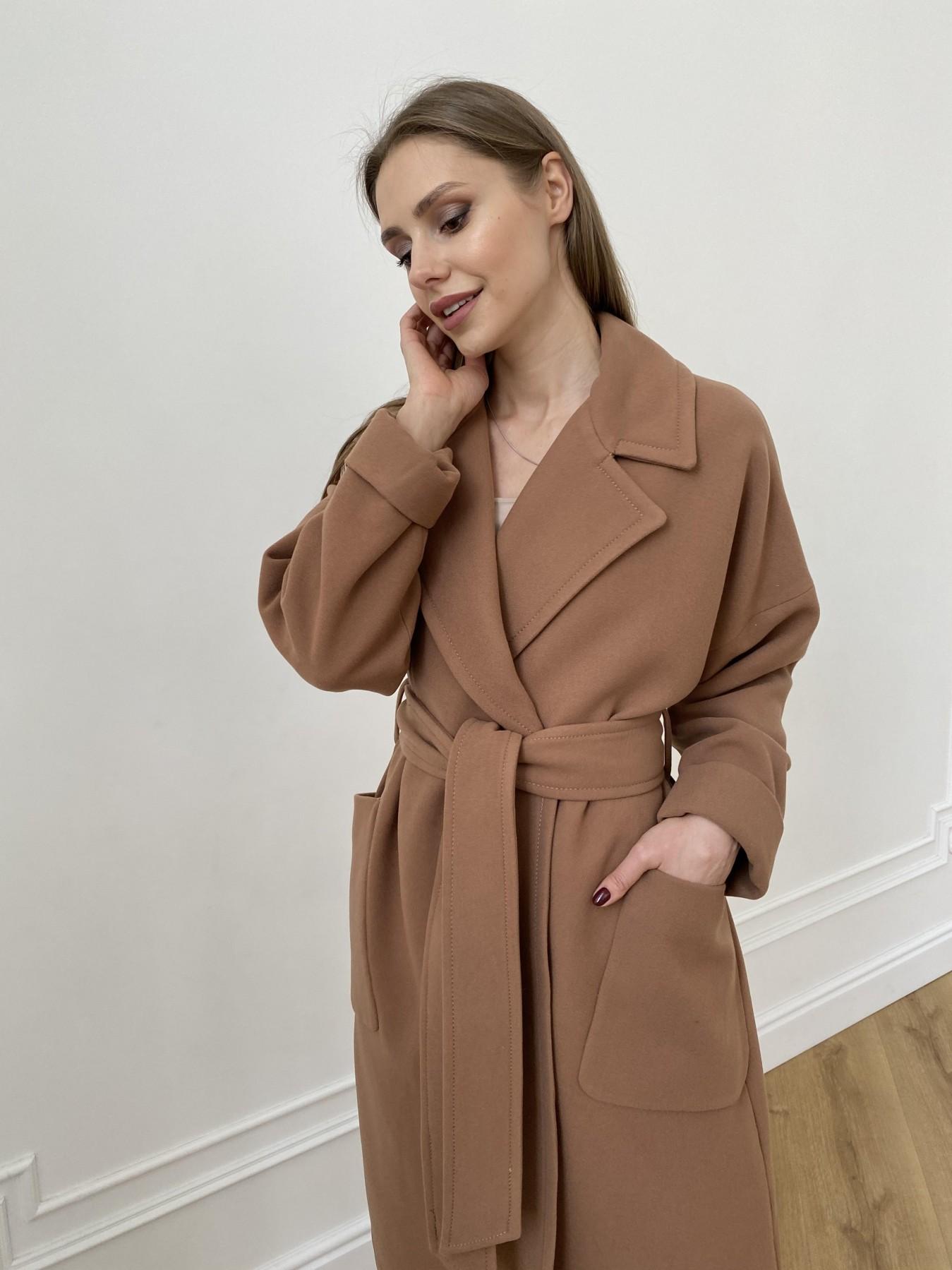 Кейт  пальто из кашемира 10539 АРТ. 47460 Цвет: Кемел Темный 8442 - фото 6, интернет магазин tm-modus.ru