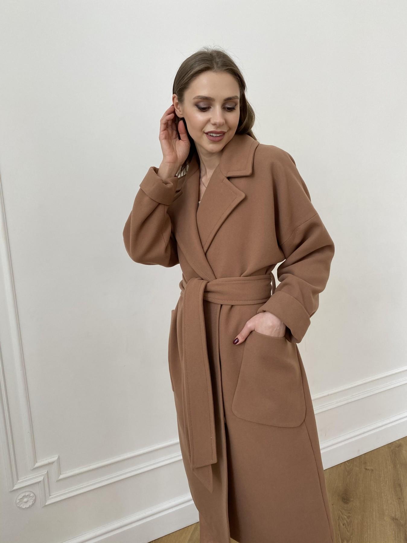 Кейт  пальто из кашемира 10539 АРТ. 47460 Цвет: Кемел Темный 8442 - фото 8, интернет магазин tm-modus.ru