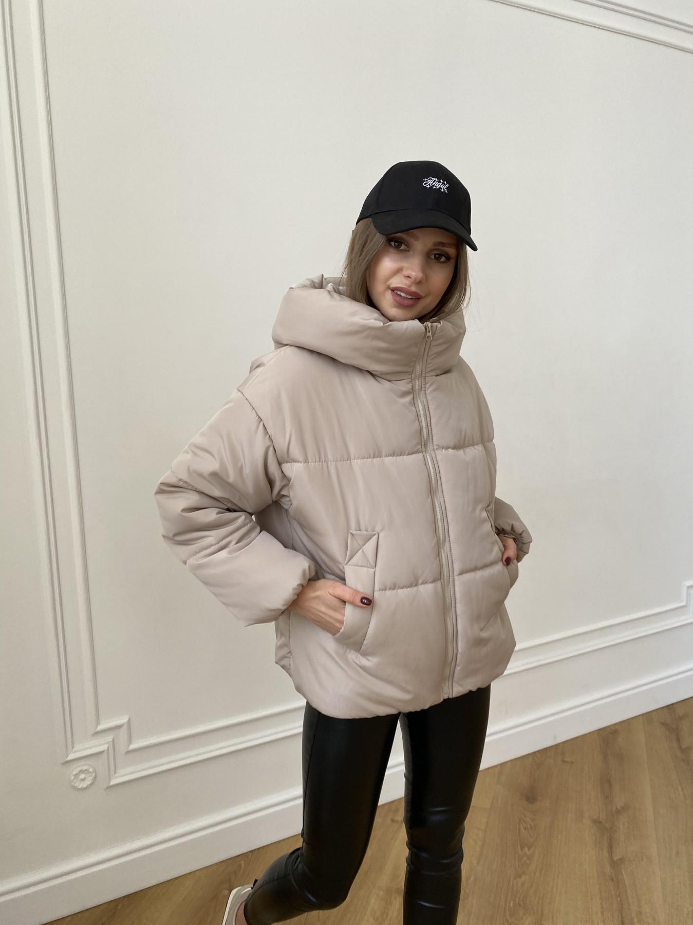 Нокс куртка из плащевой ткани 10535 АРТ. 47482 Цвет: Бежевый - фото 1, интернет магазин tm-modus.ru