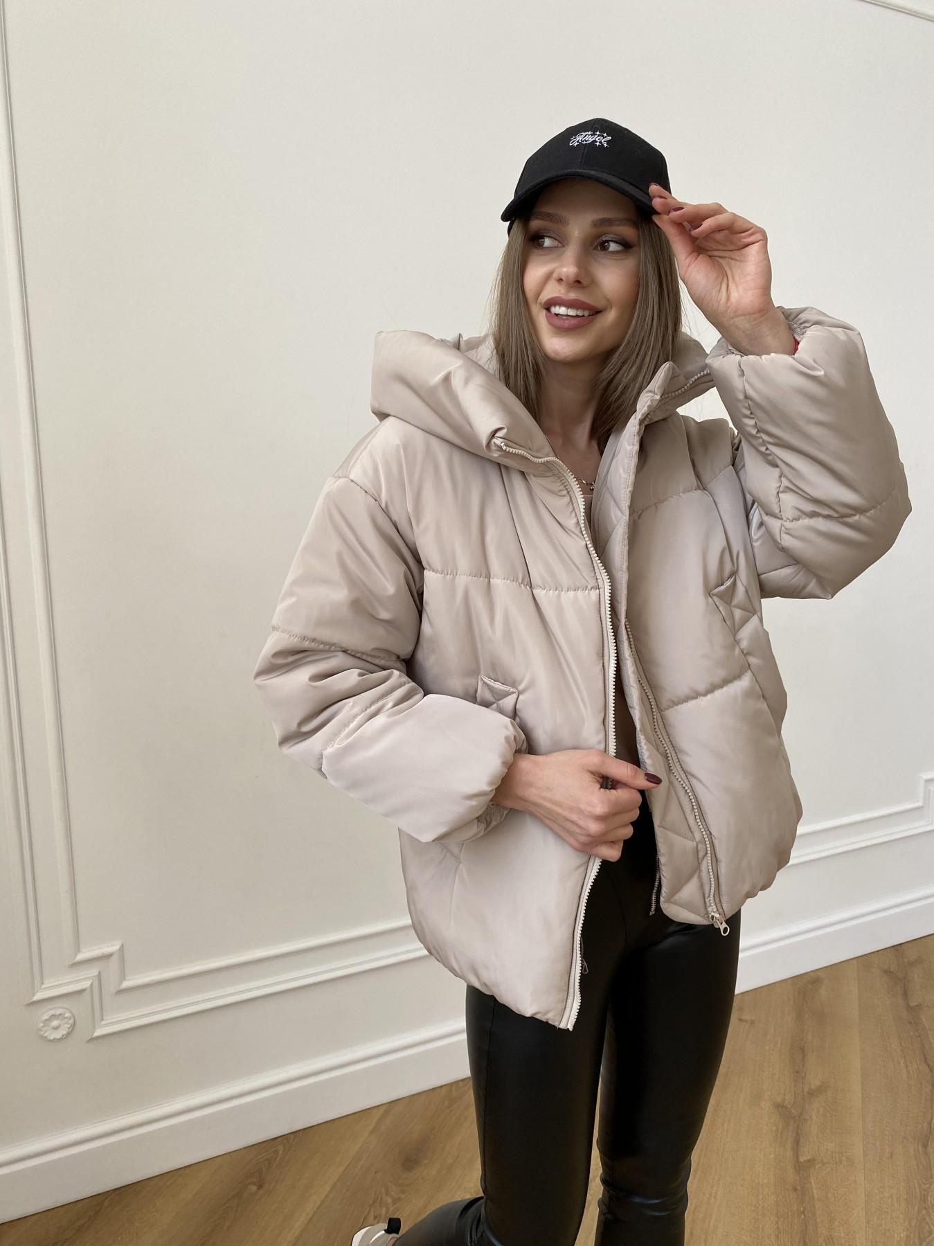 Нокс куртка из плащевой ткани 10535 АРТ. 47482 Цвет: Бежевый - фото 3, интернет магазин tm-modus.ru