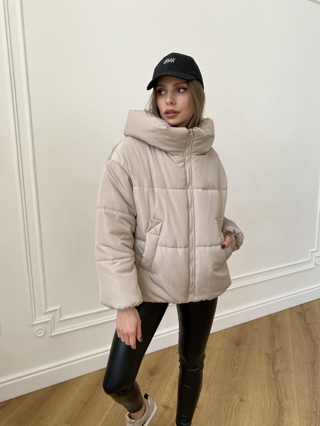 Нокс куртка из плащевой ткани 10535 АРТ. 47482 Цвет: Бежевый - фото 7, интернет магазин tm-modus.ru