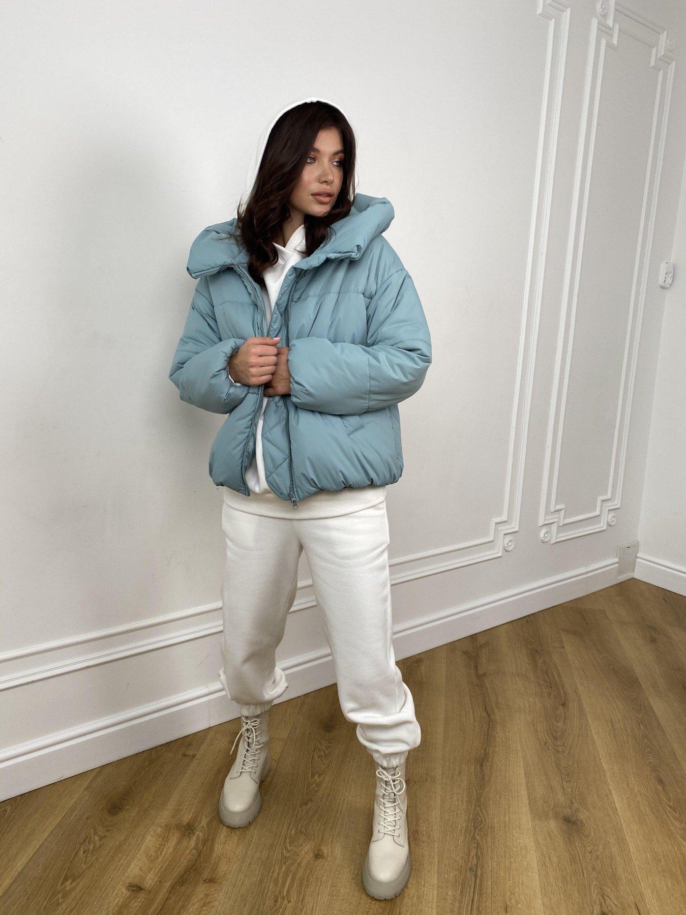 Нокс куртка  из плащевой ткани Astra 10994 АРТ. 47484 Цвет: Олива Astra - фото 2, интернет магазин tm-modus.ru
