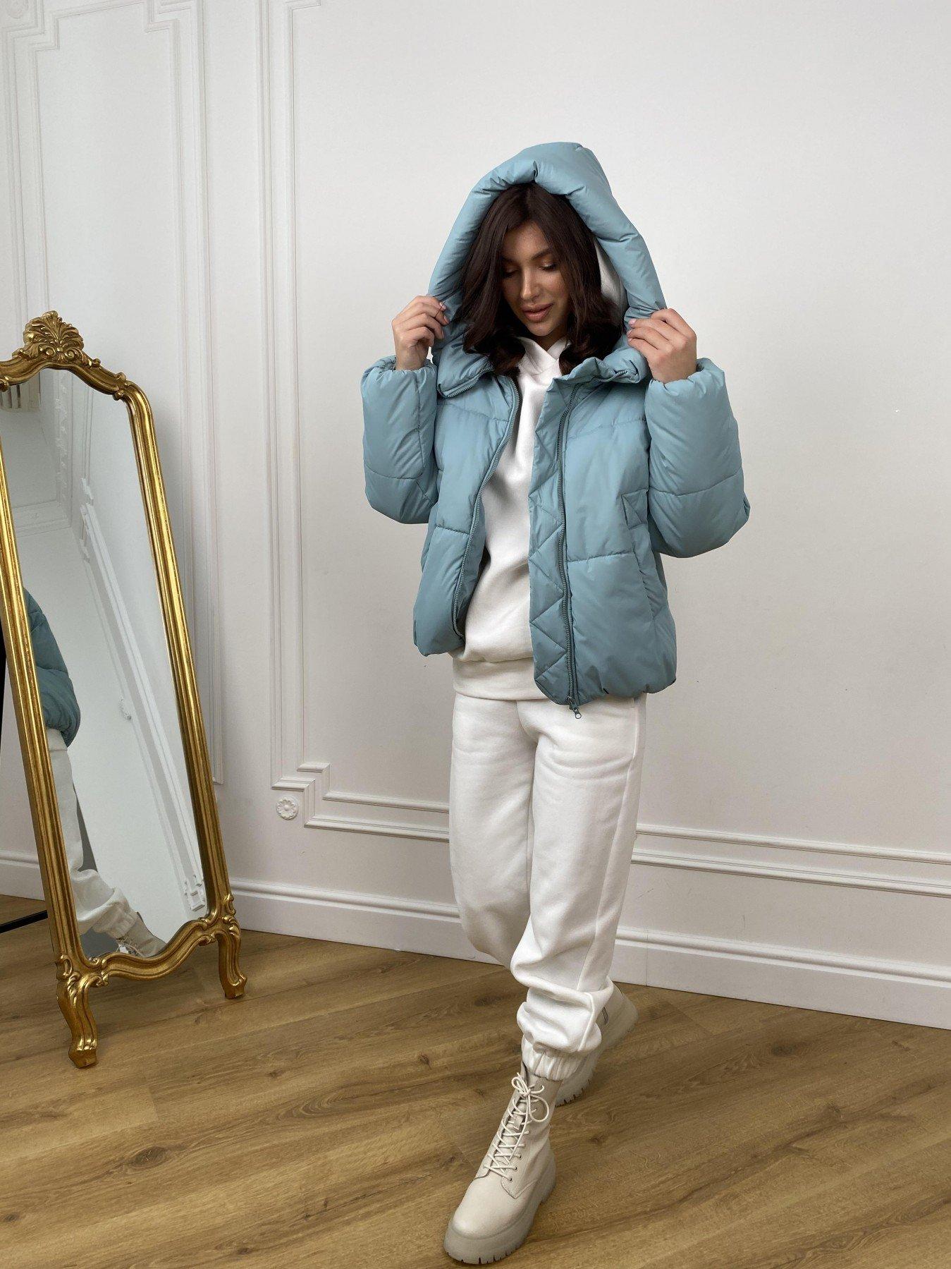 Нокс куртка  из плащевой ткани Astra 10994 АРТ. 47484 Цвет: Олива Astra - фото 3, интернет магазин tm-modus.ru