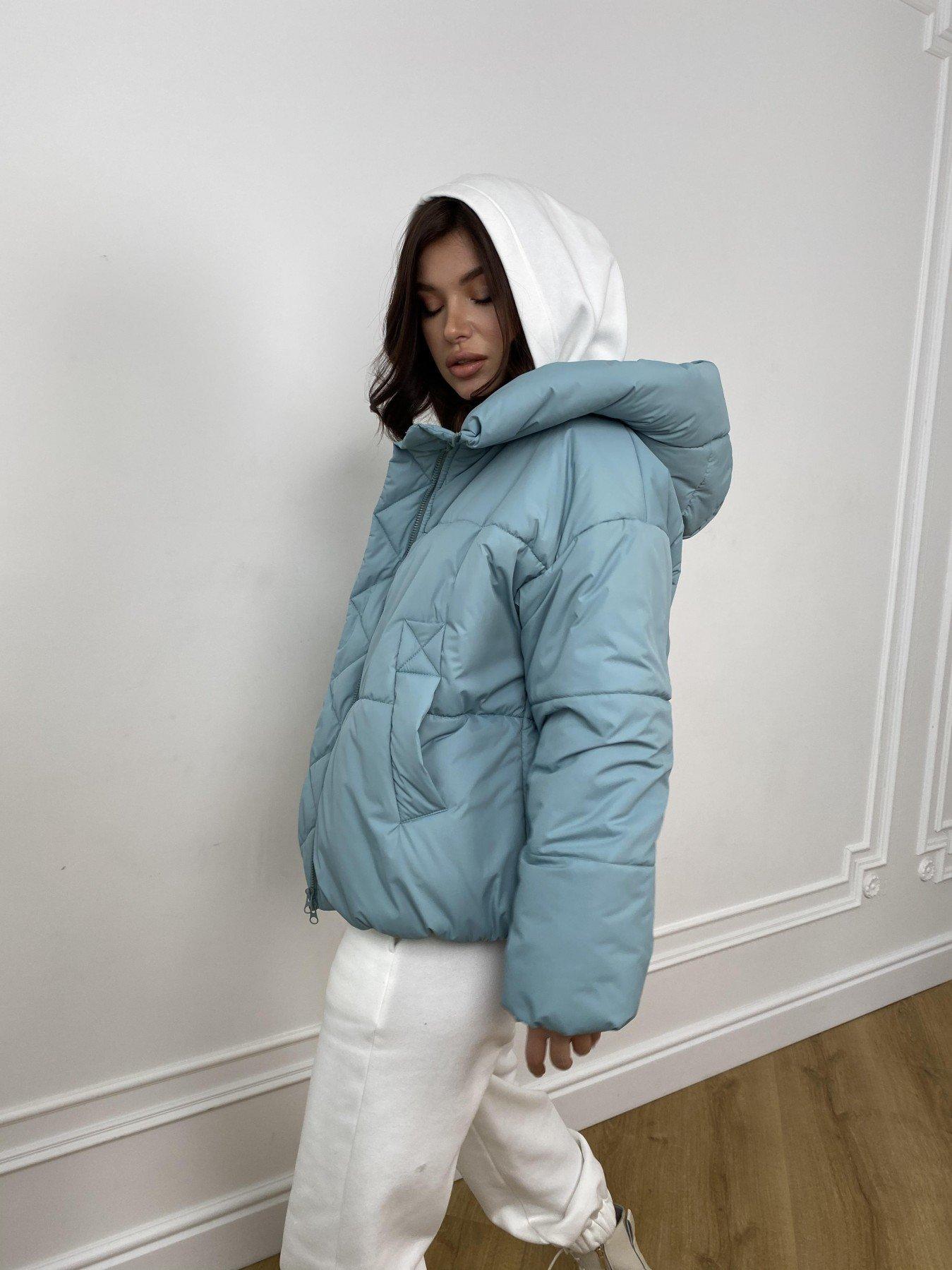 Нокс куртка  из плащевой ткани Astra 10994 АРТ. 47484 Цвет: Олива Astra - фото 5, интернет магазин tm-modus.ru