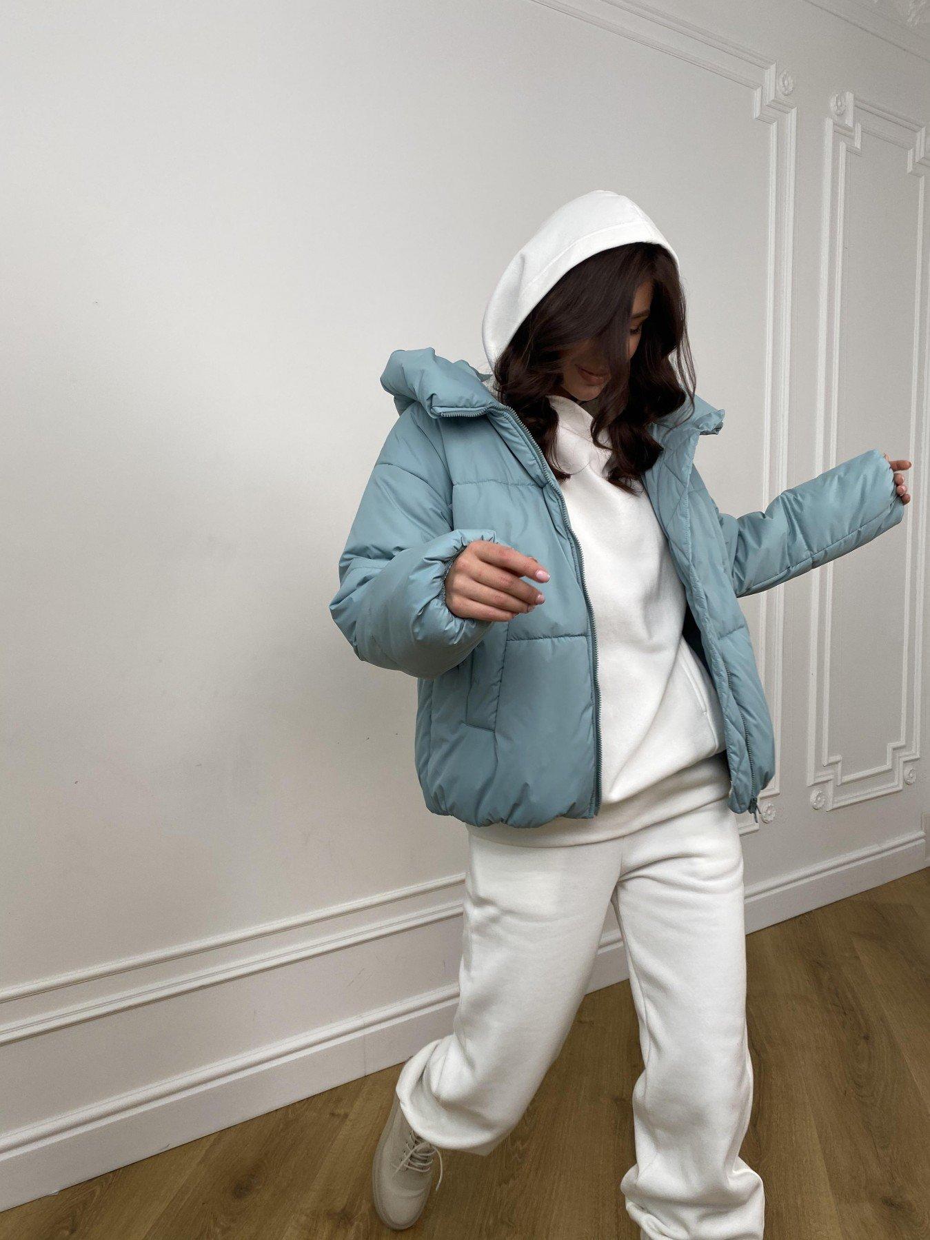 Нокс куртка  из плащевой ткани Astra 10994 АРТ. 47484 Цвет: Олива Astra - фото 7, интернет магазин tm-modus.ru