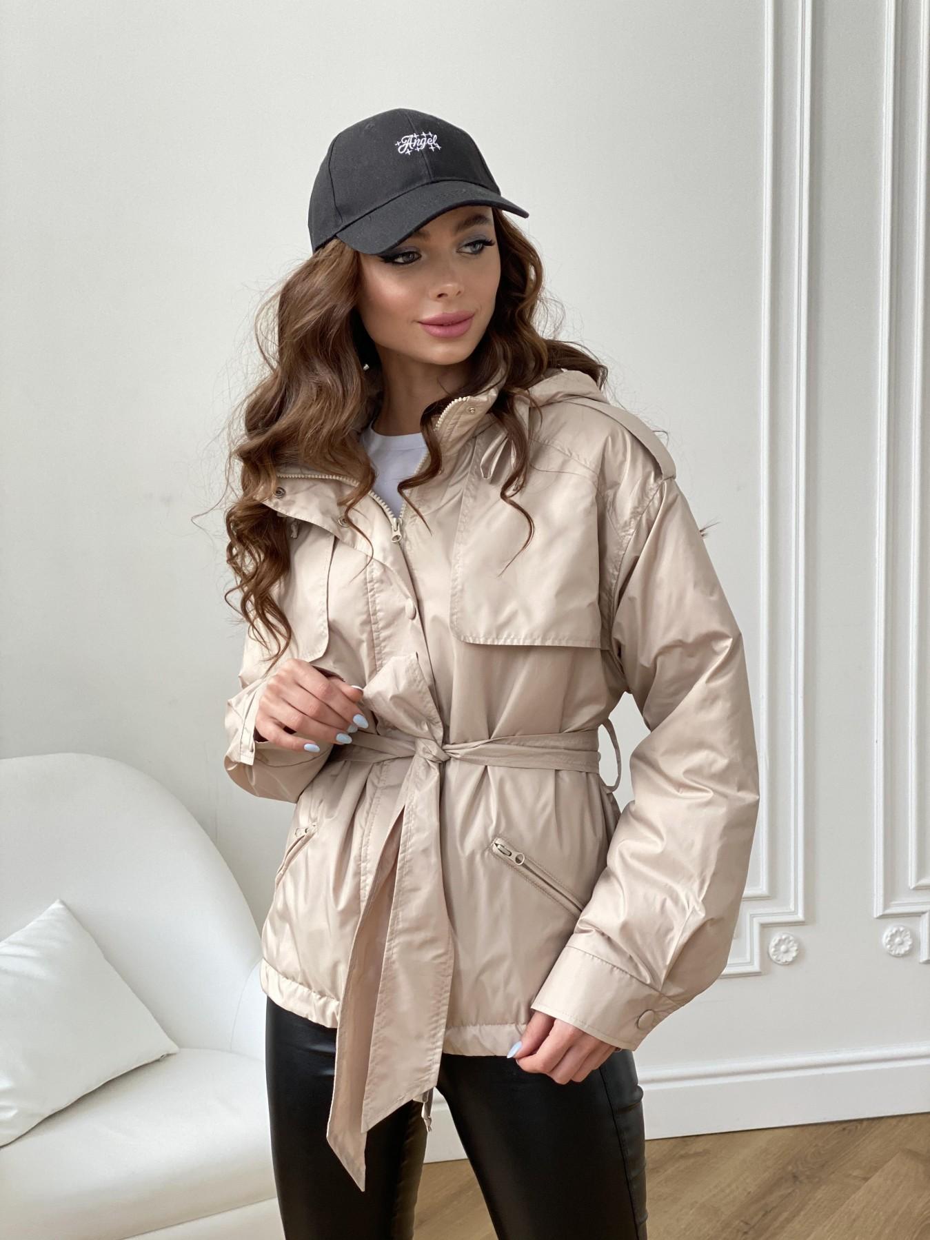 куртка женская купить Кросс Планка ветровка из плащевой ткани Gloria 11168