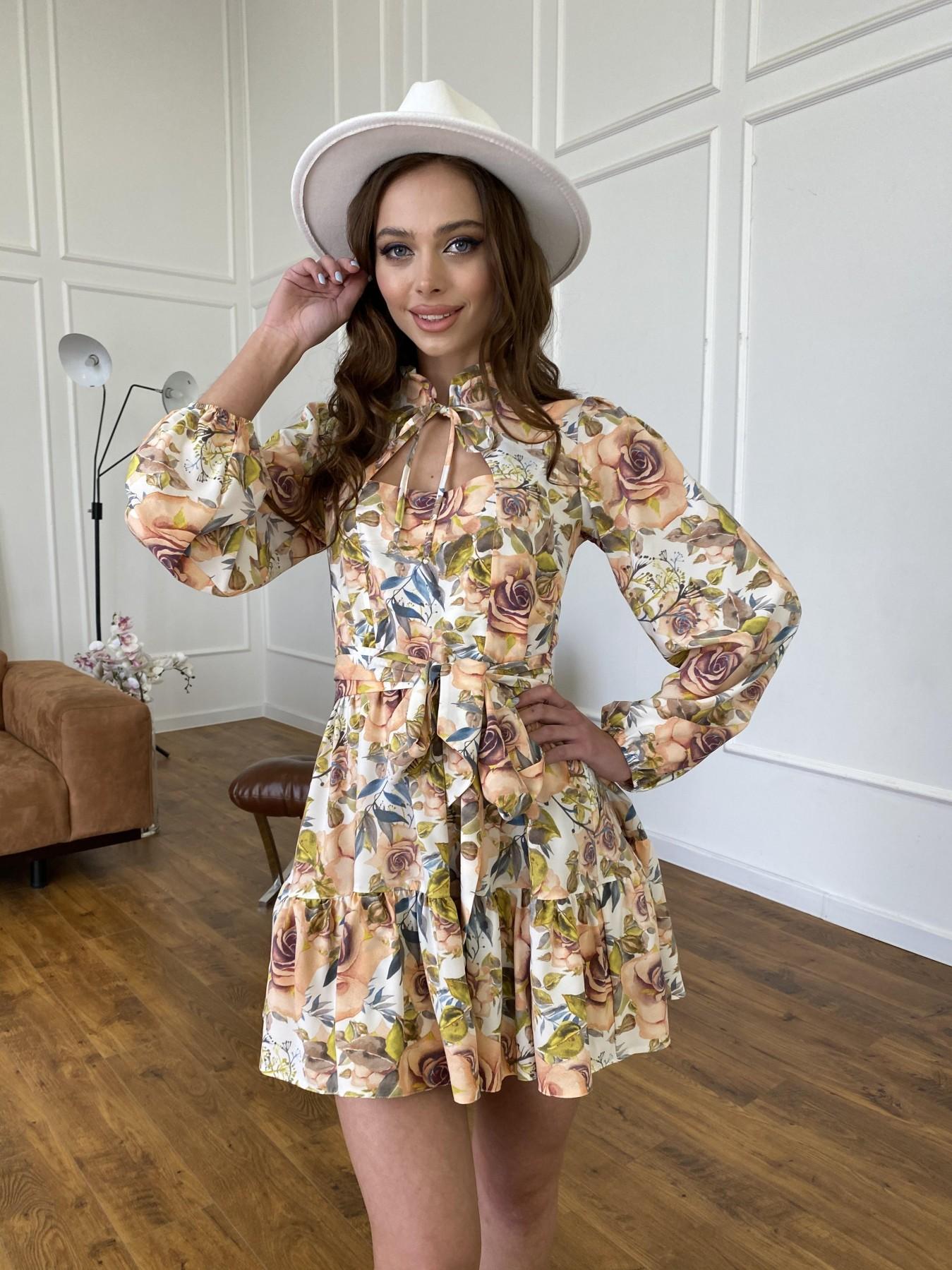 Женские платья от производителя Марселла платье  софт принт бистрейч 11200