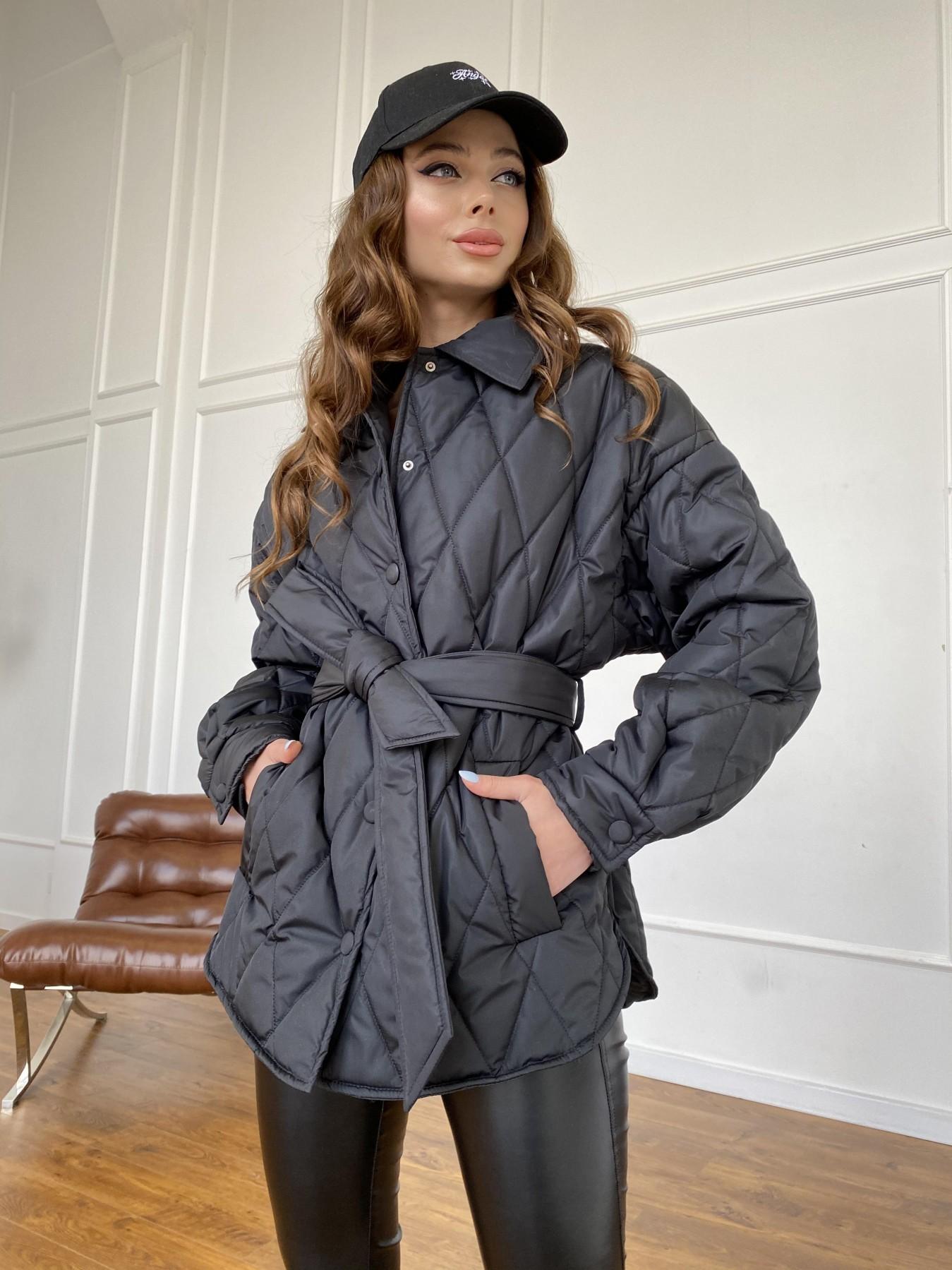 куртки демисезонные женские Харьков Моно куртка из плащевой ткани Ammy 10972
