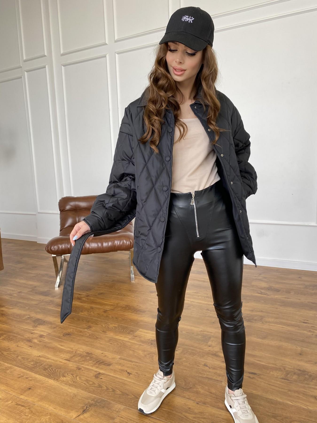 Моно куртка из плащевой ткани Ammy 10972 АРТ. 47618 Цвет: Черный - фото 12, интернет магазин tm-modus.ru