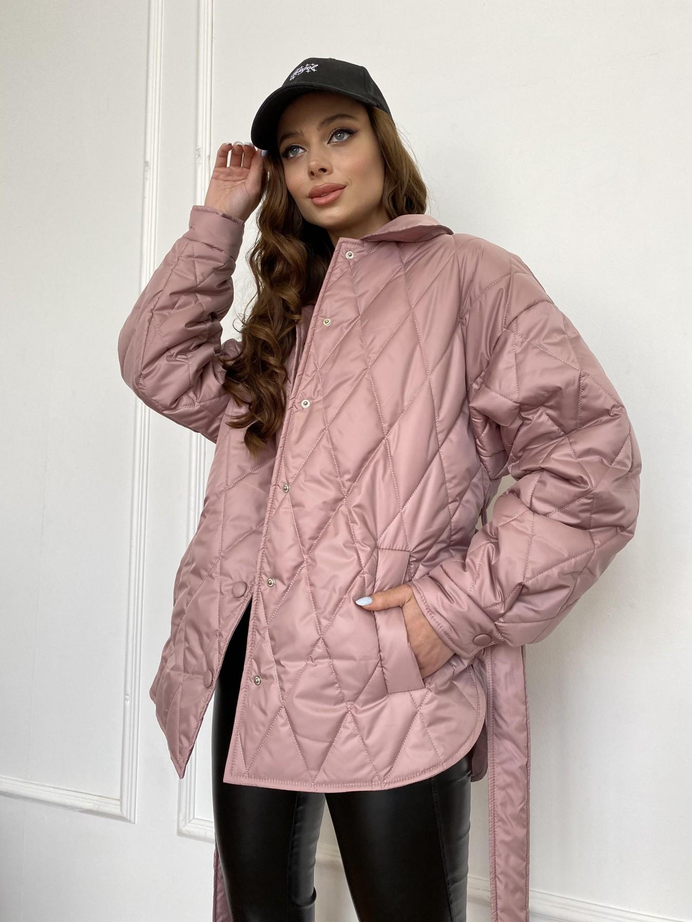 Моно  куртка из плащевой ткани Gloria 11081 АРТ. 47647 Цвет: Пудра - фото 12, интернет магазин tm-modus.ru