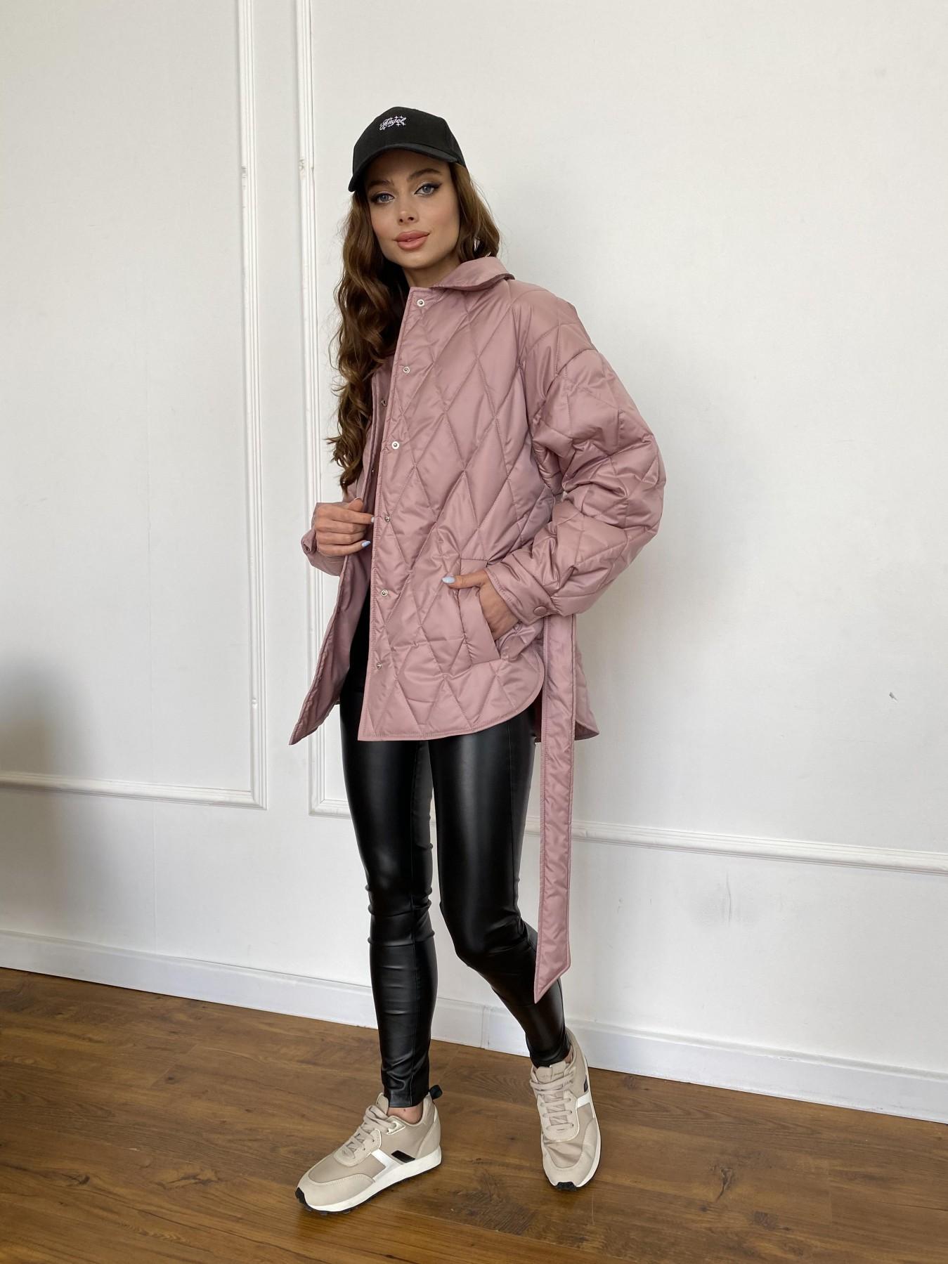 Моно  куртка из плащевой ткани Gloria 11081 АРТ. 47647 Цвет: Пудра - фото 13, интернет магазин tm-modus.ru
