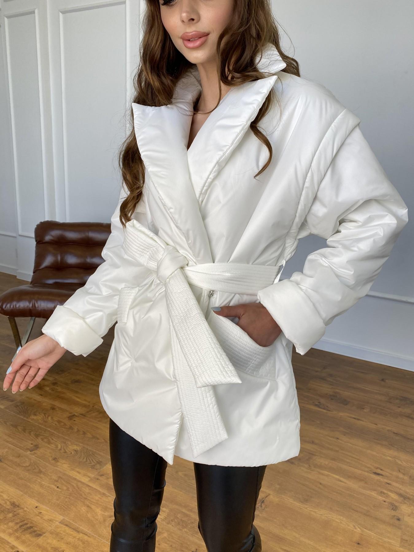 Форбс куртка-жилет из плащевой ткани Ammy  11159 АРТ. 47659 Цвет: Молоко 12 - фото 5, интернет магазин tm-modus.ru