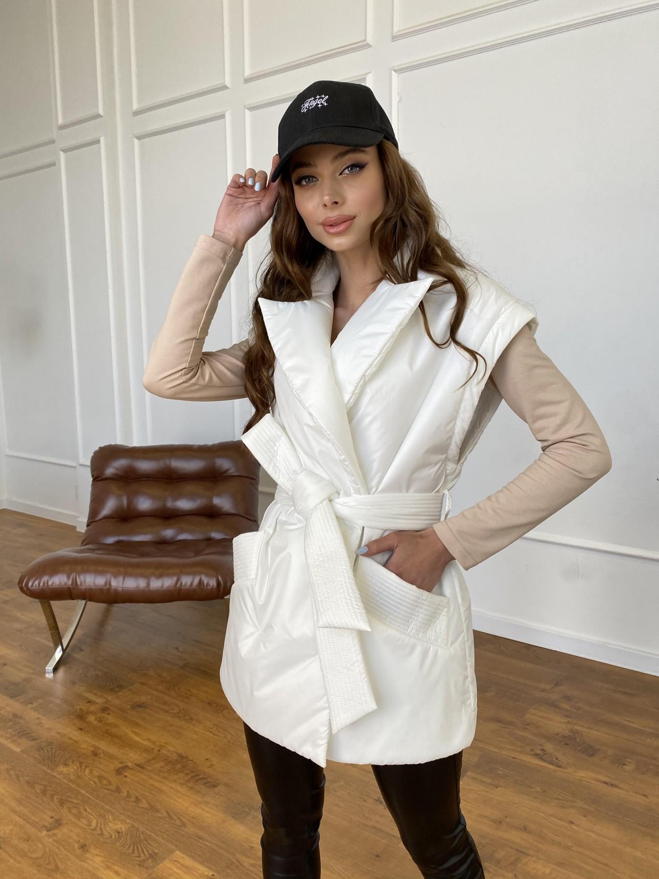 Форбс куртка-жилет из плащевой ткани Ammy  11159 АРТ. 47659 Цвет: Молоко 12 - фото 7, интернет магазин tm-modus.ru
