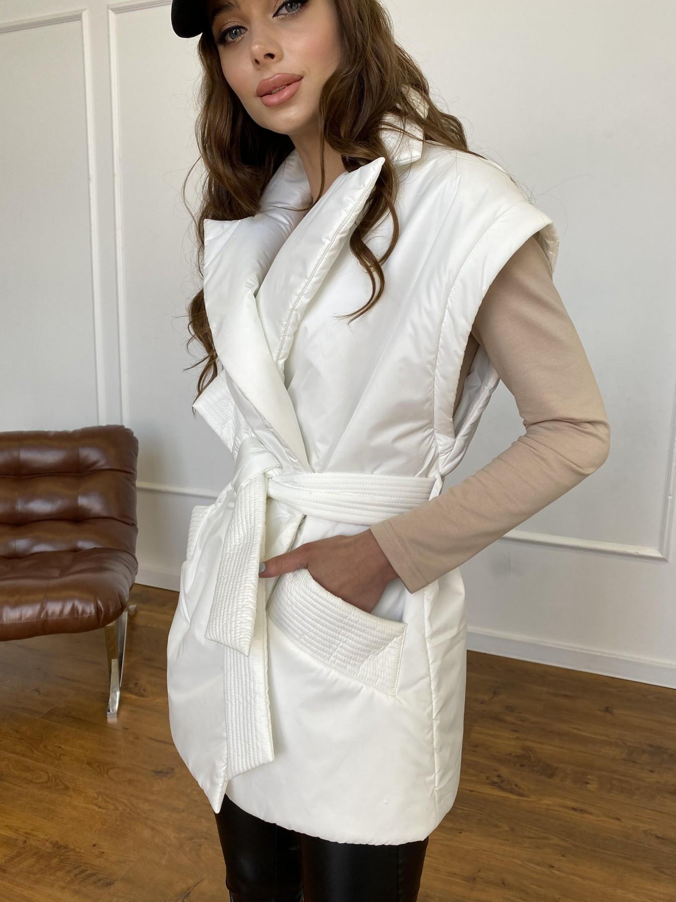 Форбс куртка-жилет из плащевой ткани Ammy  11159 АРТ. 47659 Цвет: Молоко 12 - фото 8, интернет магазин tm-modus.ru