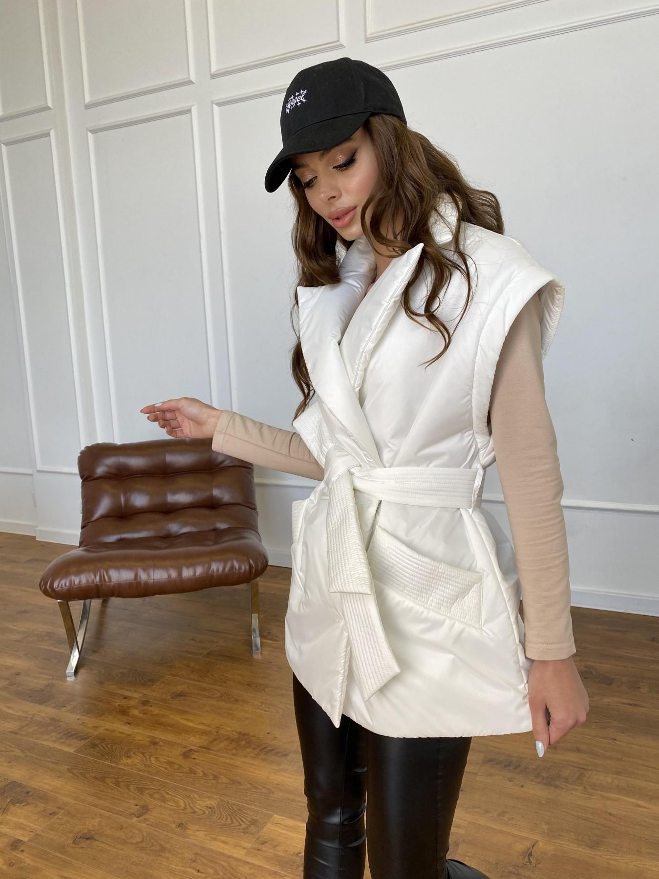 Форбс куртка-жилет из плащевой ткани Ammy  11159 АРТ. 47659 Цвет: Молоко 12 - фото 11, интернет магазин tm-modus.ru