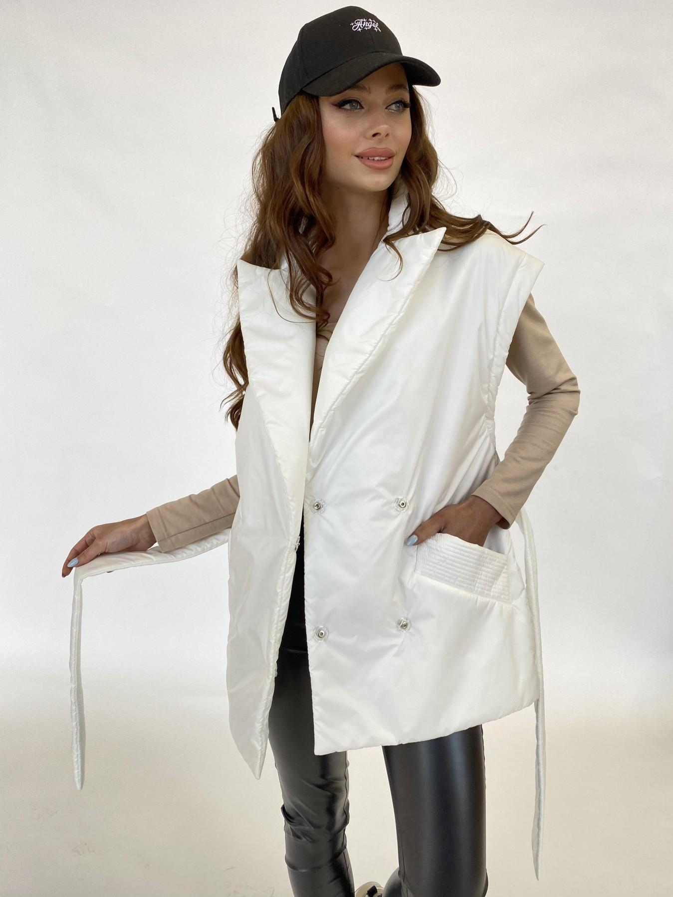 Форбс куртка-жилет из плащевой ткани Ammy  11159 АРТ. 47659 Цвет: Молоко 12 - фото 12, интернет магазин tm-modus.ru