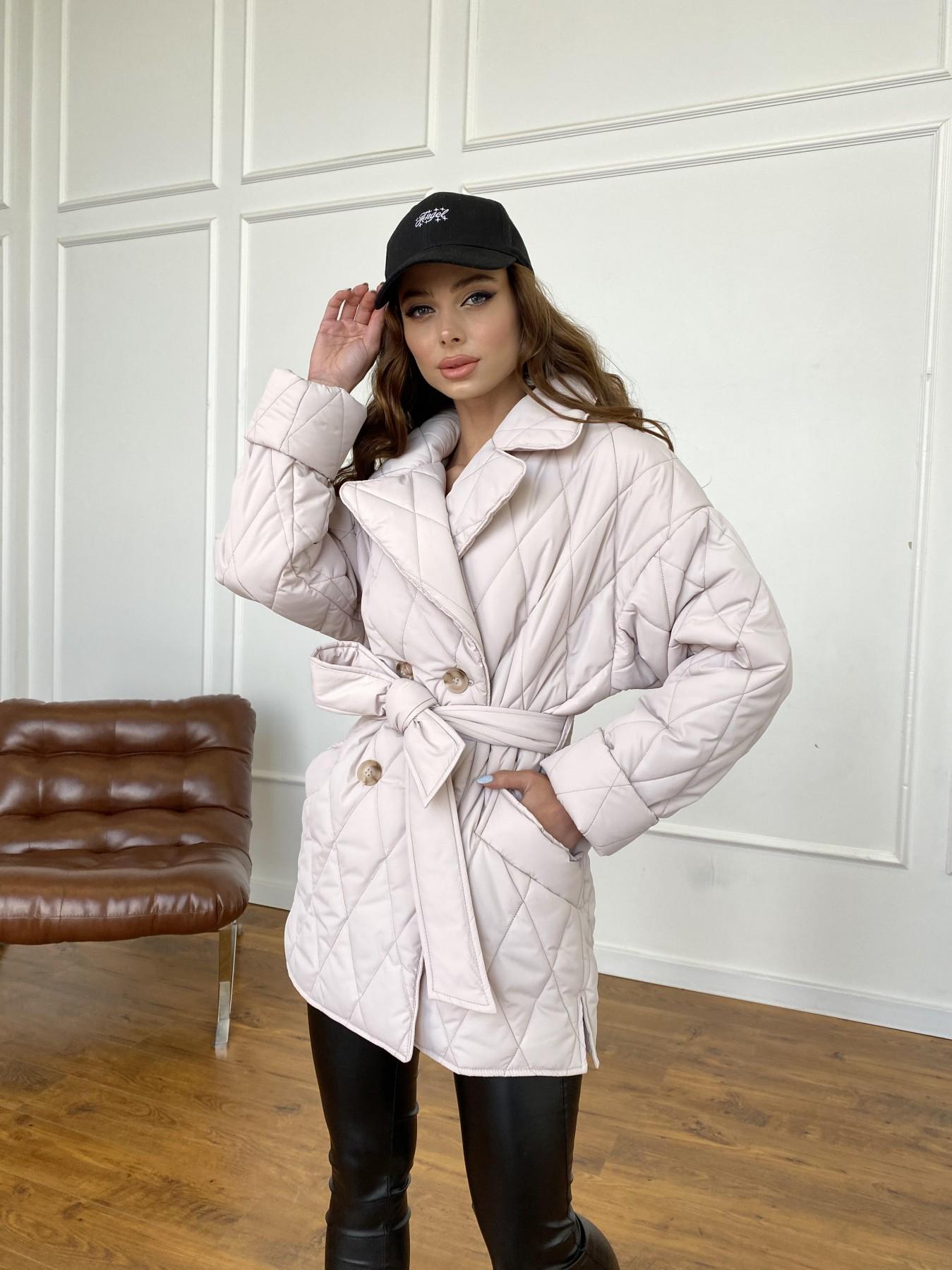 Норд куртка из плащевой ткани стеганая 10883 АРТ. 47551 Цвет: Бежевый 970 - фото 1, интернет магазин tm-modus.ru