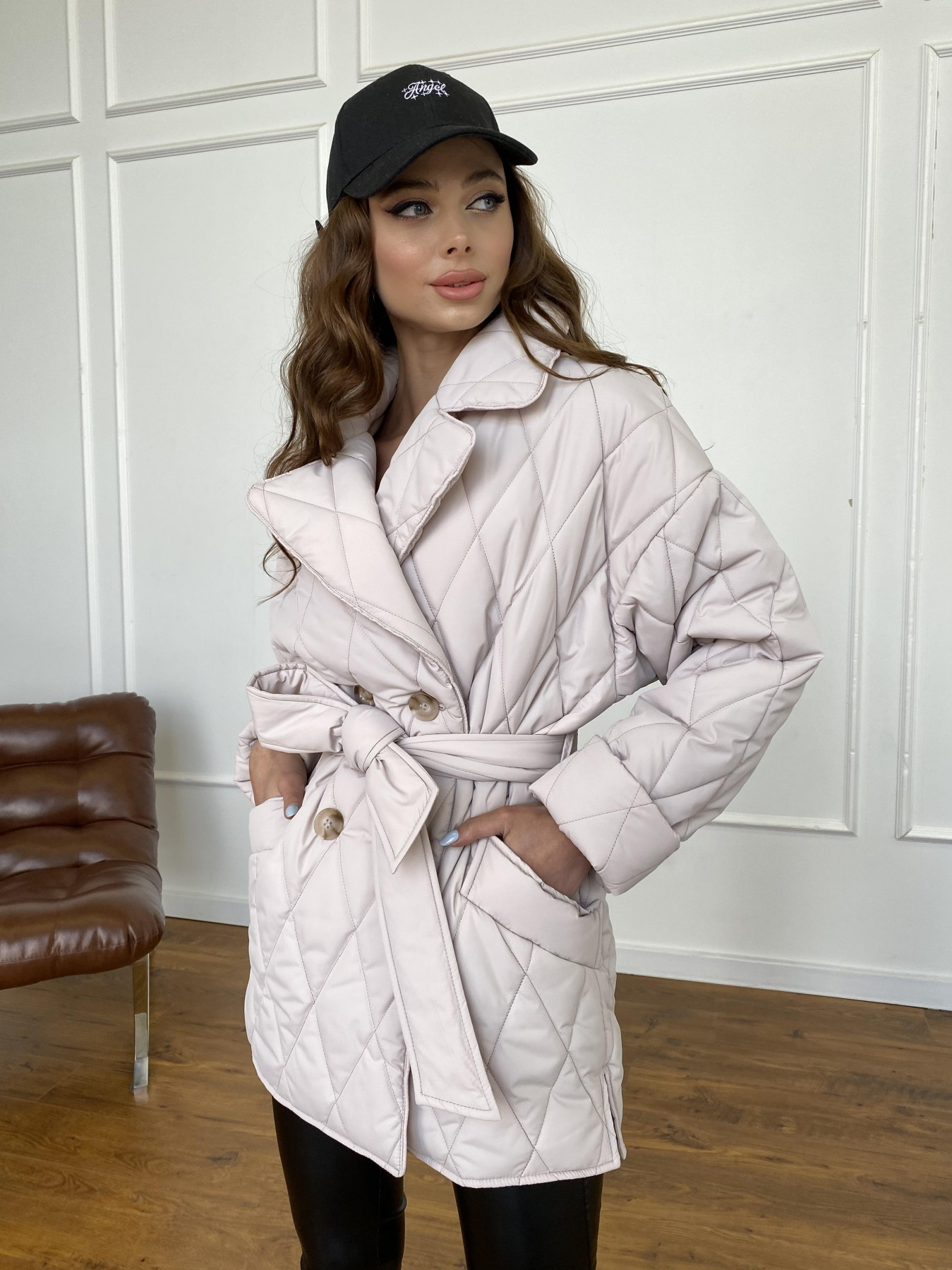 куртки оптом Украина  Норд куртка из плащевой ткани стеганая 10883