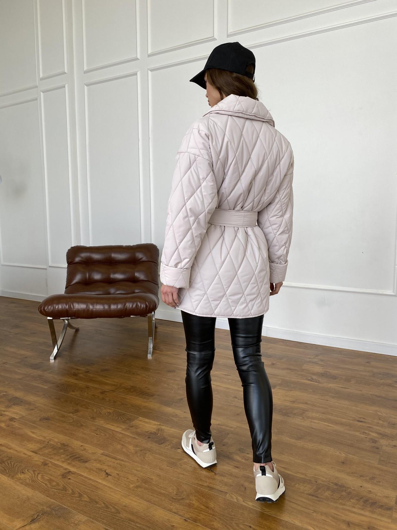 Норд куртка из плащевой ткани стеганая 10883 АРТ. 47551 Цвет: Бежевый 970 - фото 5, интернет магазин tm-modus.ru