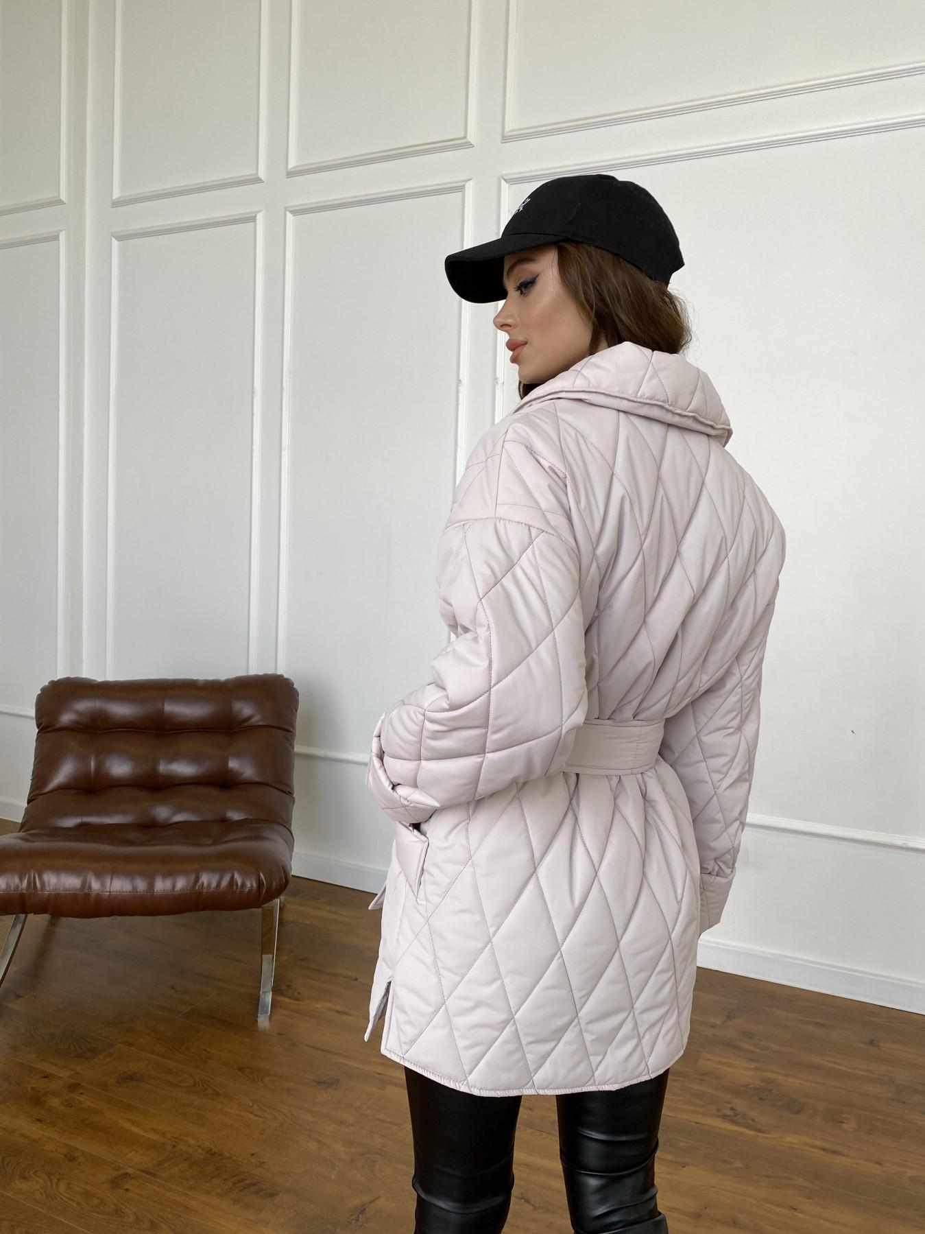 Норд куртка из плащевой ткани стеганая 10883 АРТ. 47551 Цвет: Бежевый 970 - фото 6, интернет магазин tm-modus.ru