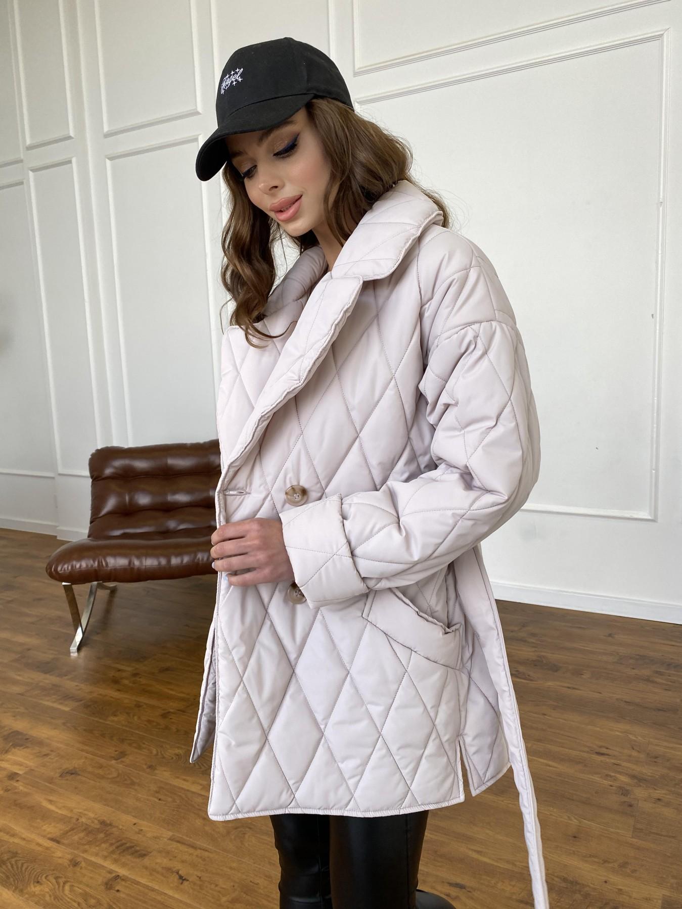 Норд куртка из плащевой ткани стеганая 10883 АРТ. 47551 Цвет: Бежевый 970 - фото 8, интернет магазин tm-modus.ru