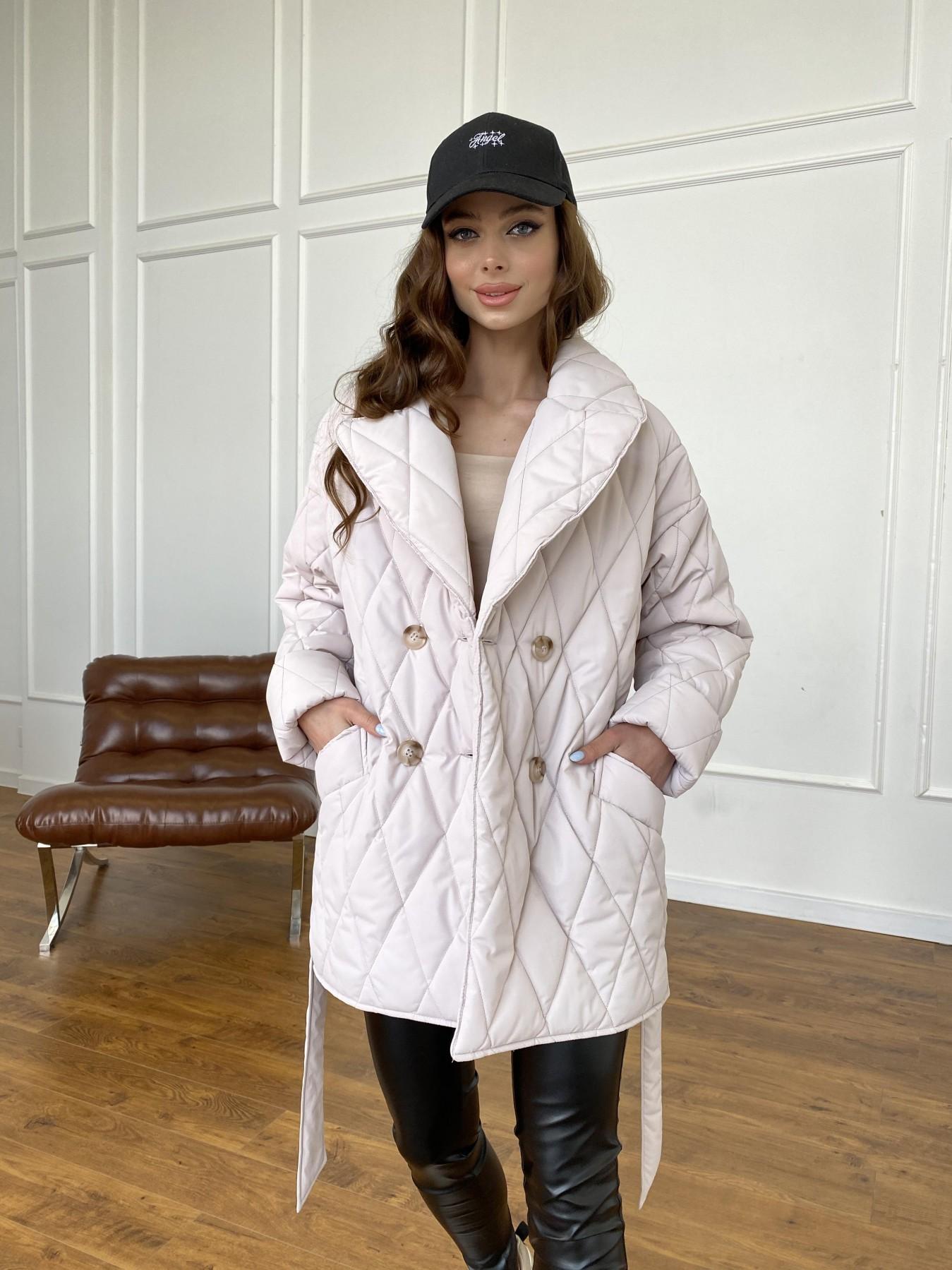 Норд куртка из плащевой ткани стеганая 10883 АРТ. 47551 Цвет: Бежевый 970 - фото 10, интернет магазин tm-modus.ru